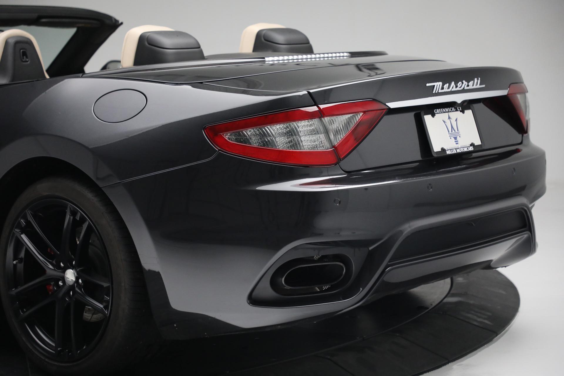 New 2019 Maserati GranTurismo Sport Convertible For Sale In Greenwich, CT 3040_p38