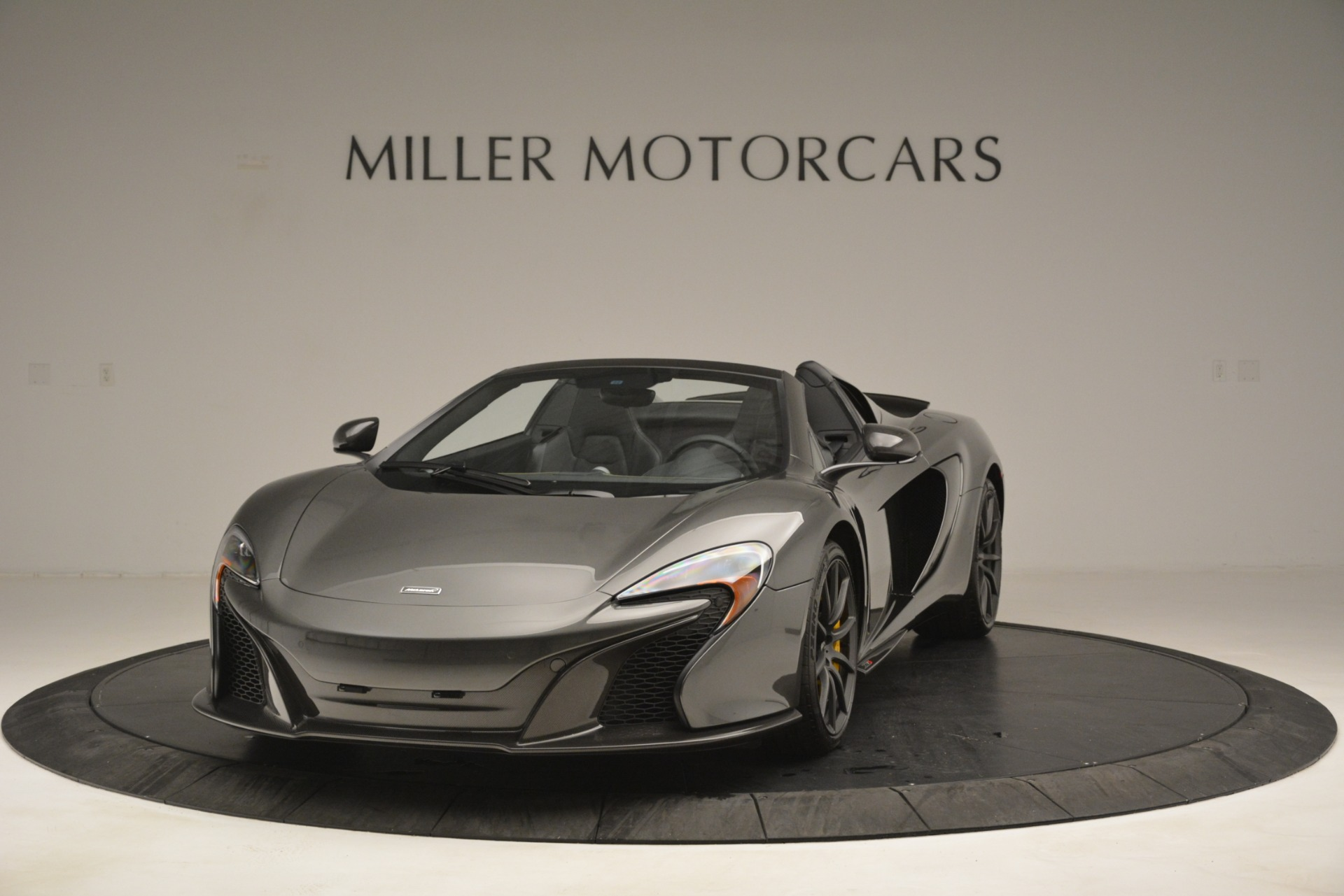 Used 2016 McLaren 650S Spider Convertible For Sale In Greenwich, CT 3062_main