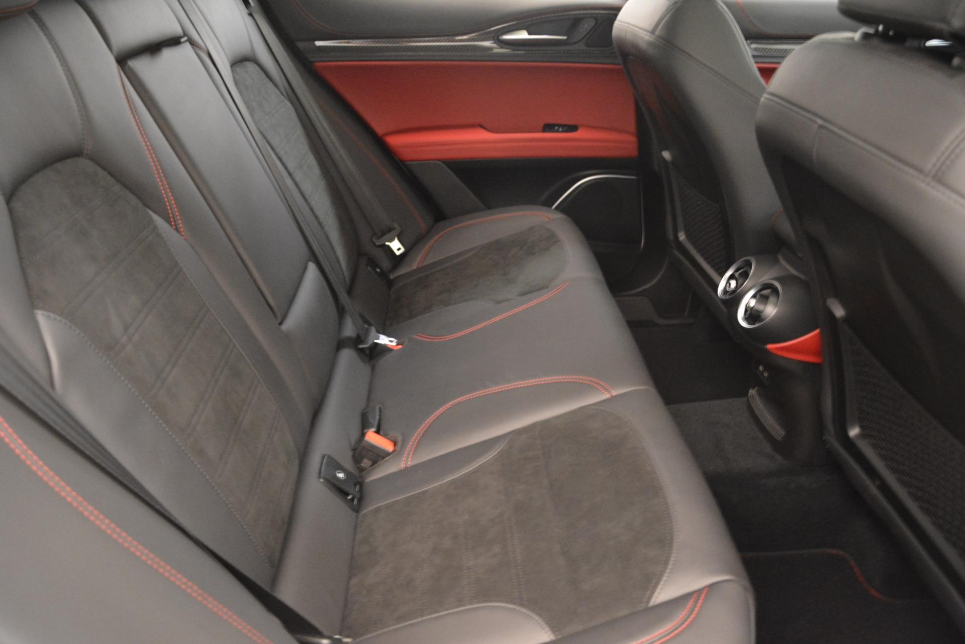 New 2019 Alfa Romeo Stelvio Quadrifoglio For Sale In Greenwich, CT 3065_p24
