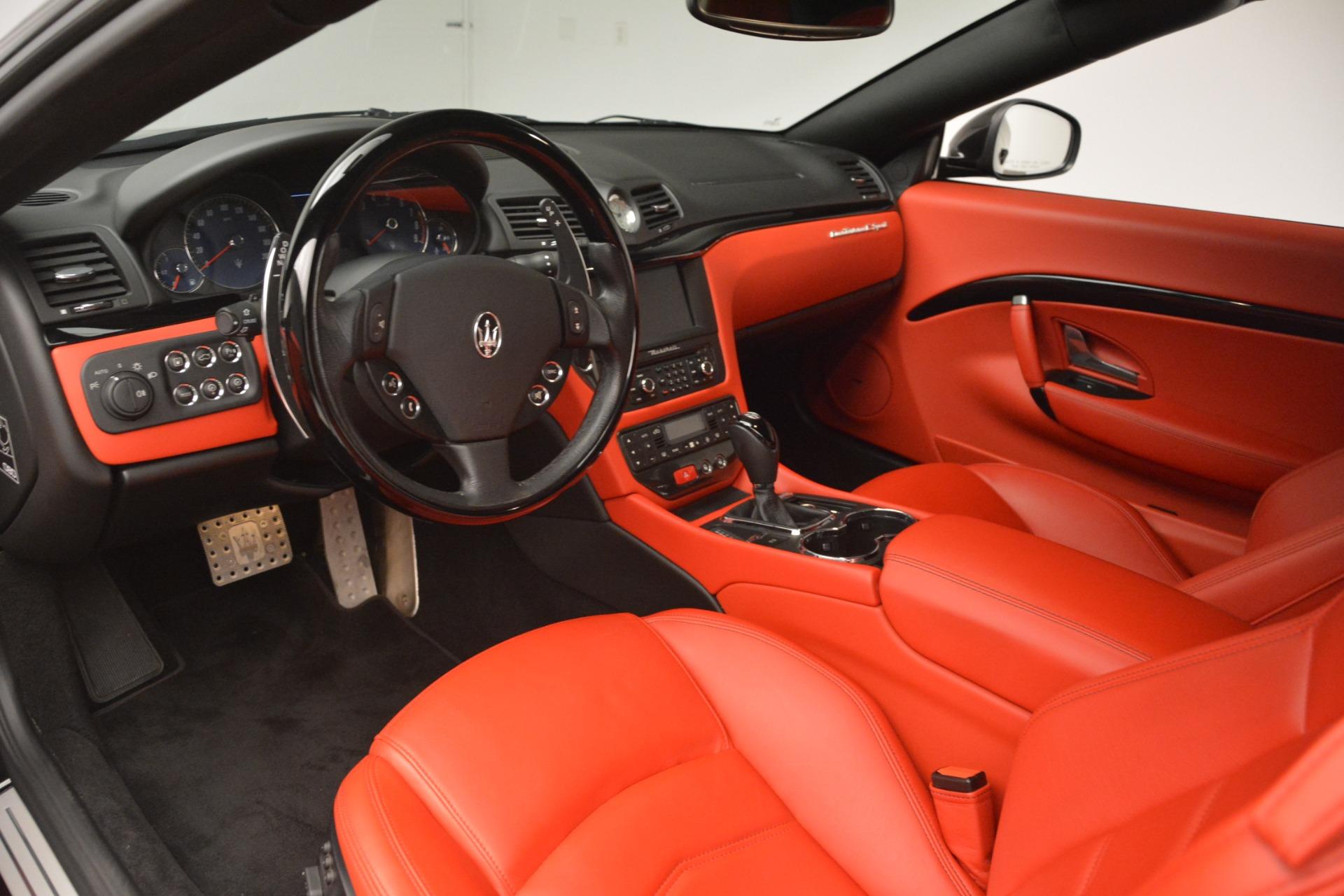 Used 2014 Maserati GranTurismo Sport For Sale In Greenwich, CT 3066_p19