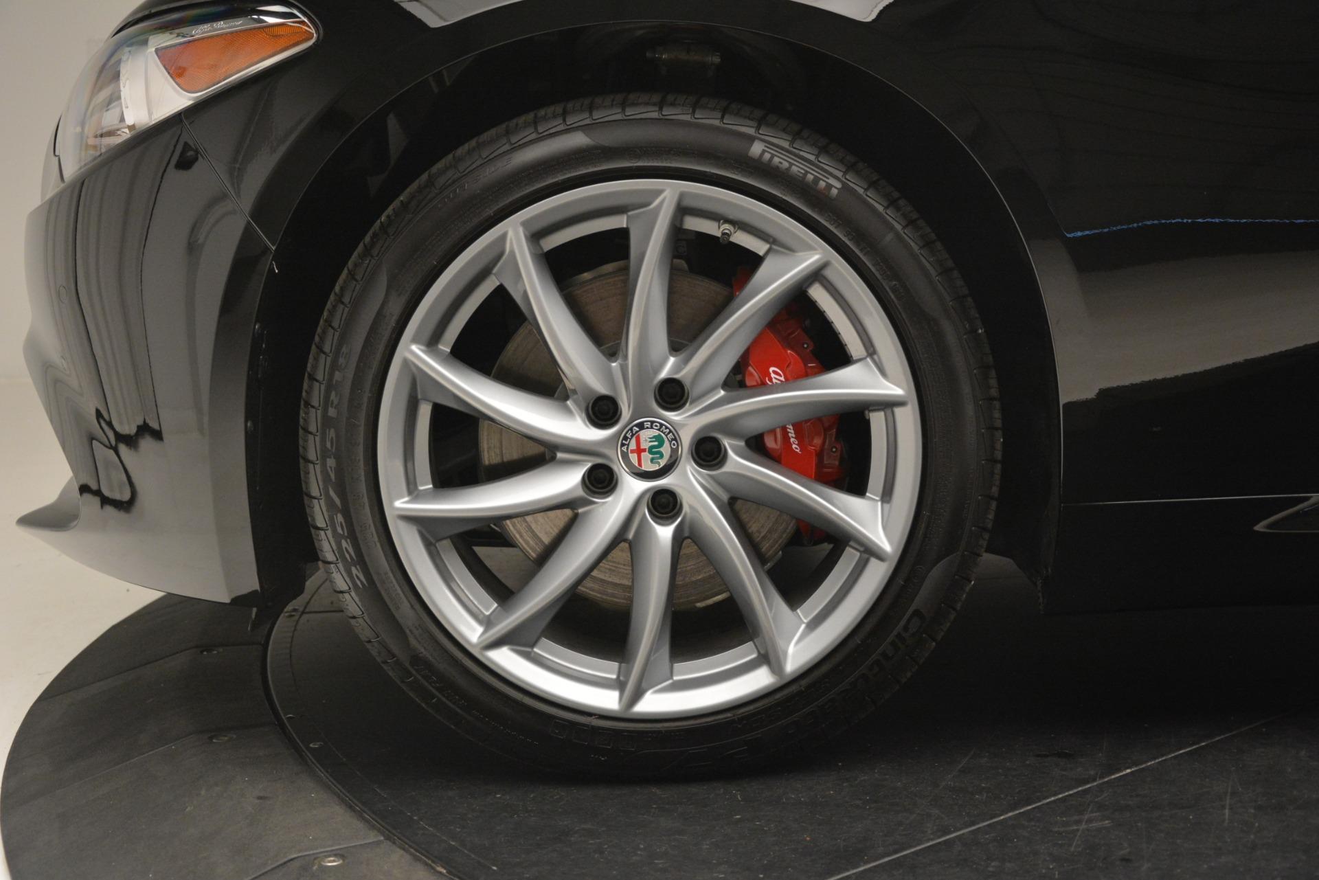 New 2019 Alfa Romeo Giulia Q4 For Sale In Greenwich, CT 3069_p30
