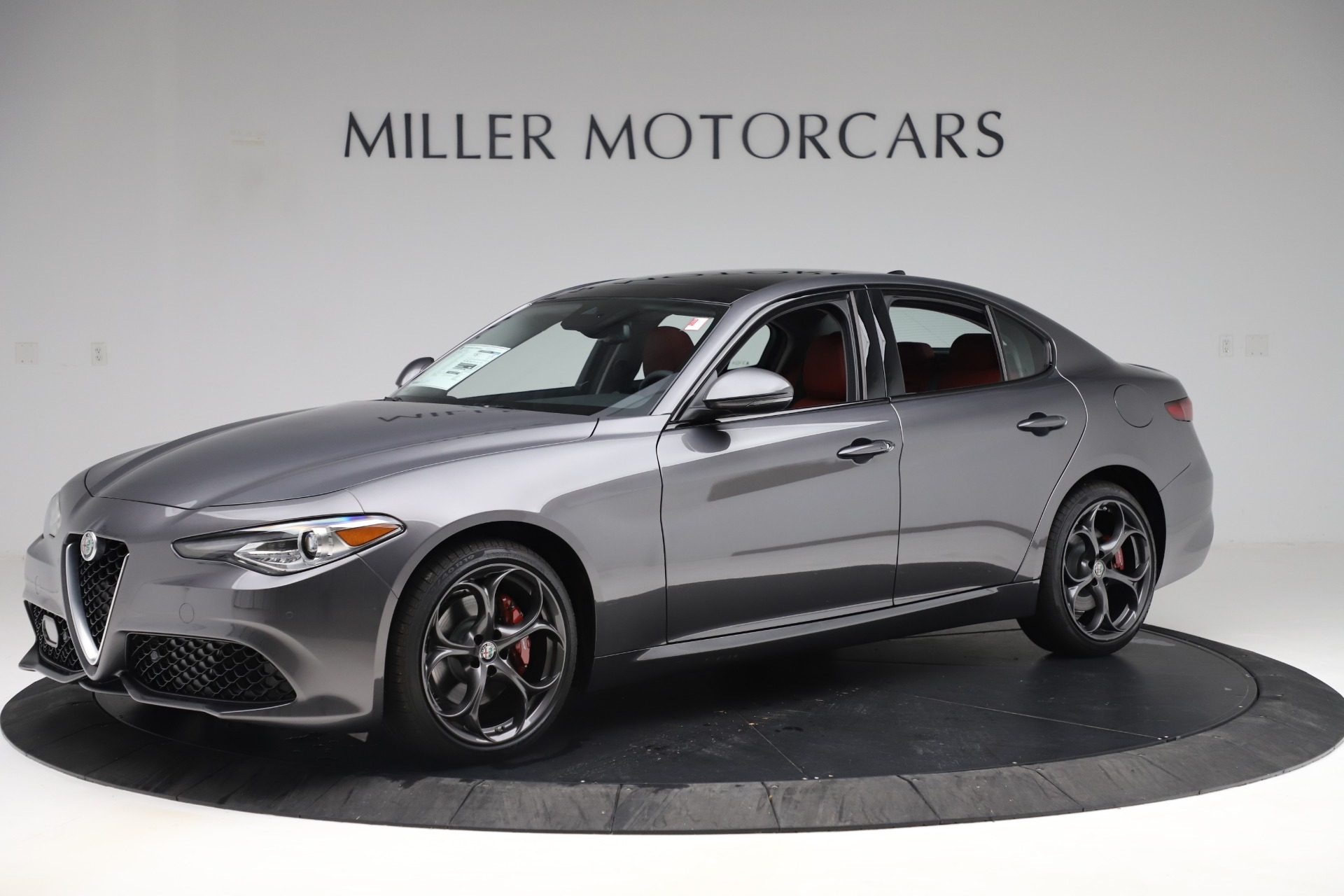 New 2019 Alfa Romeo Giulia Ti Sport Q4 For Sale In Greenwich, CT 3074_p2