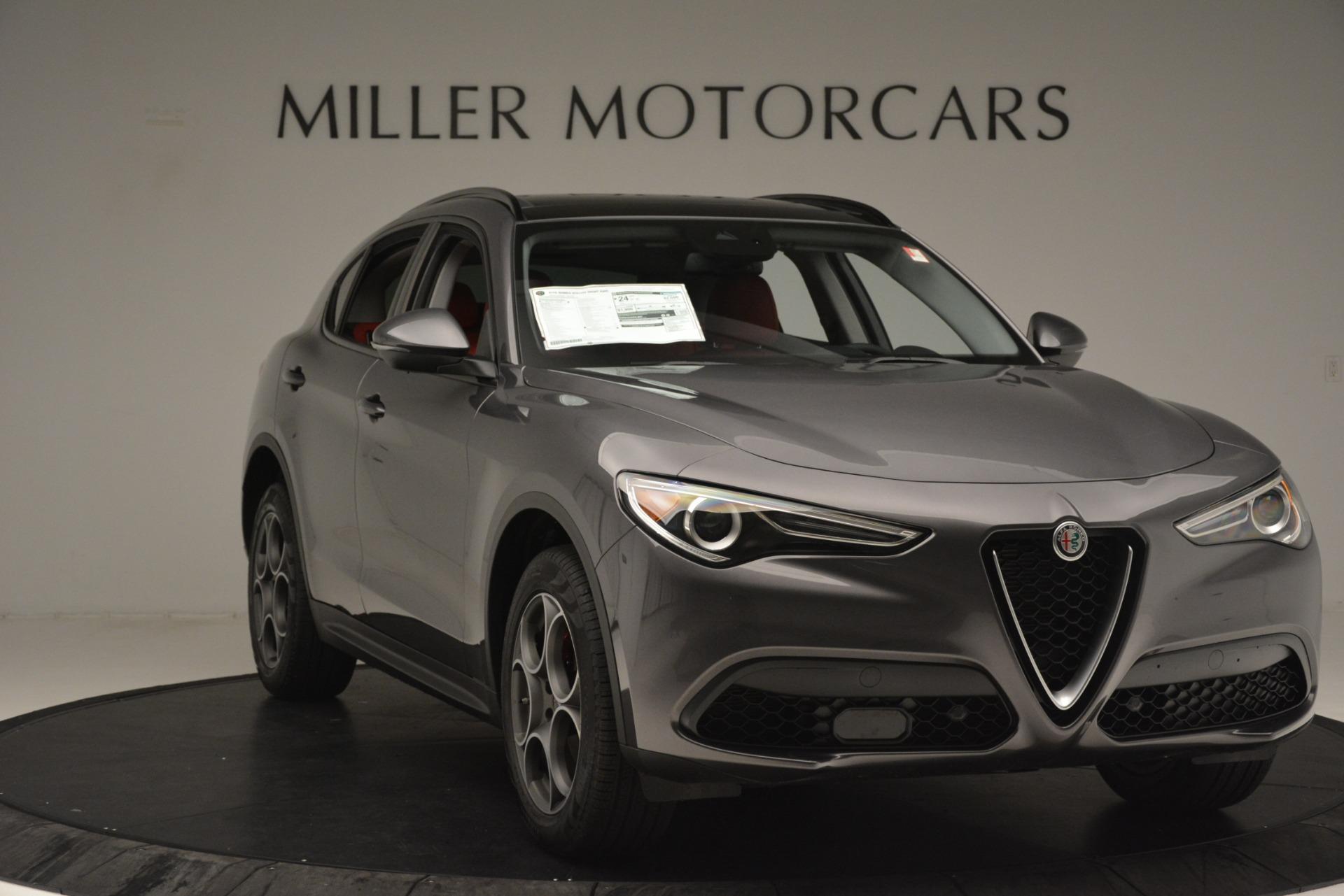 New 2019 Alfa Romeo Stelvio Sport Q4 For Sale In Greenwich, CT 3075_p11