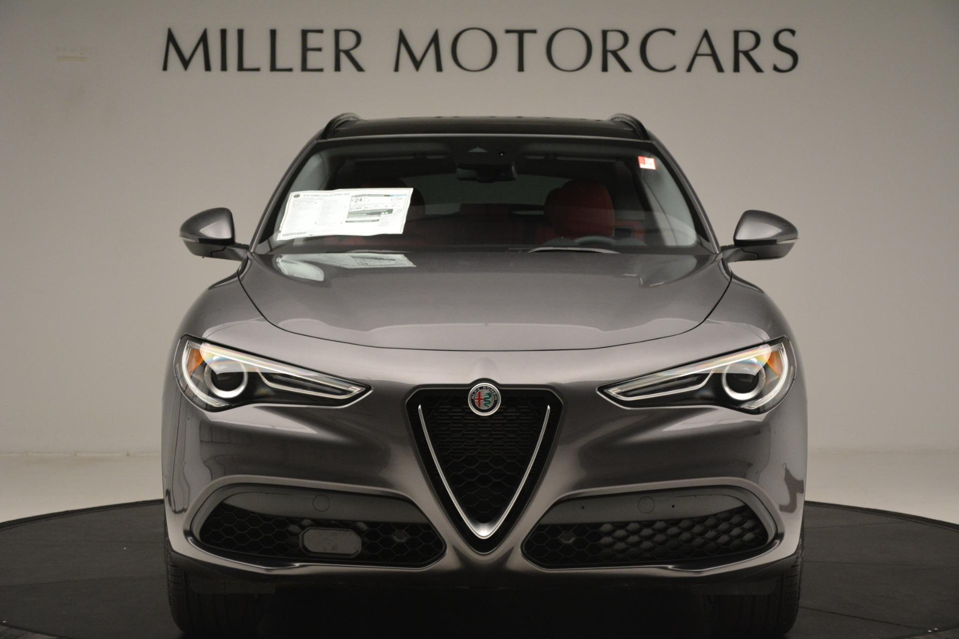 New 2019 Alfa Romeo Stelvio Sport Q4 For Sale In Greenwich, CT 3075_p12