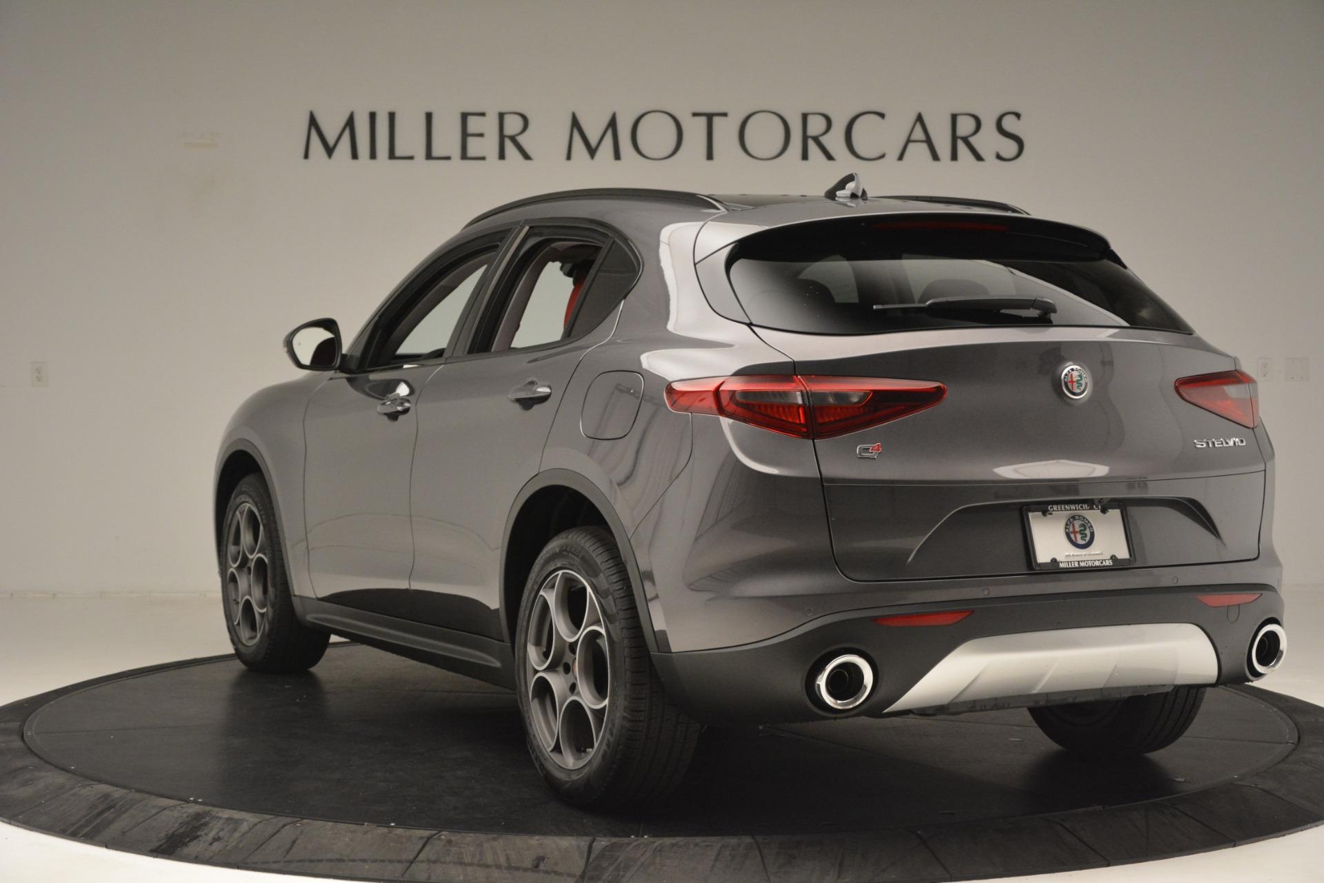 New 2019 Alfa Romeo Stelvio Sport Q4 For Sale In Greenwich, CT 3075_p5