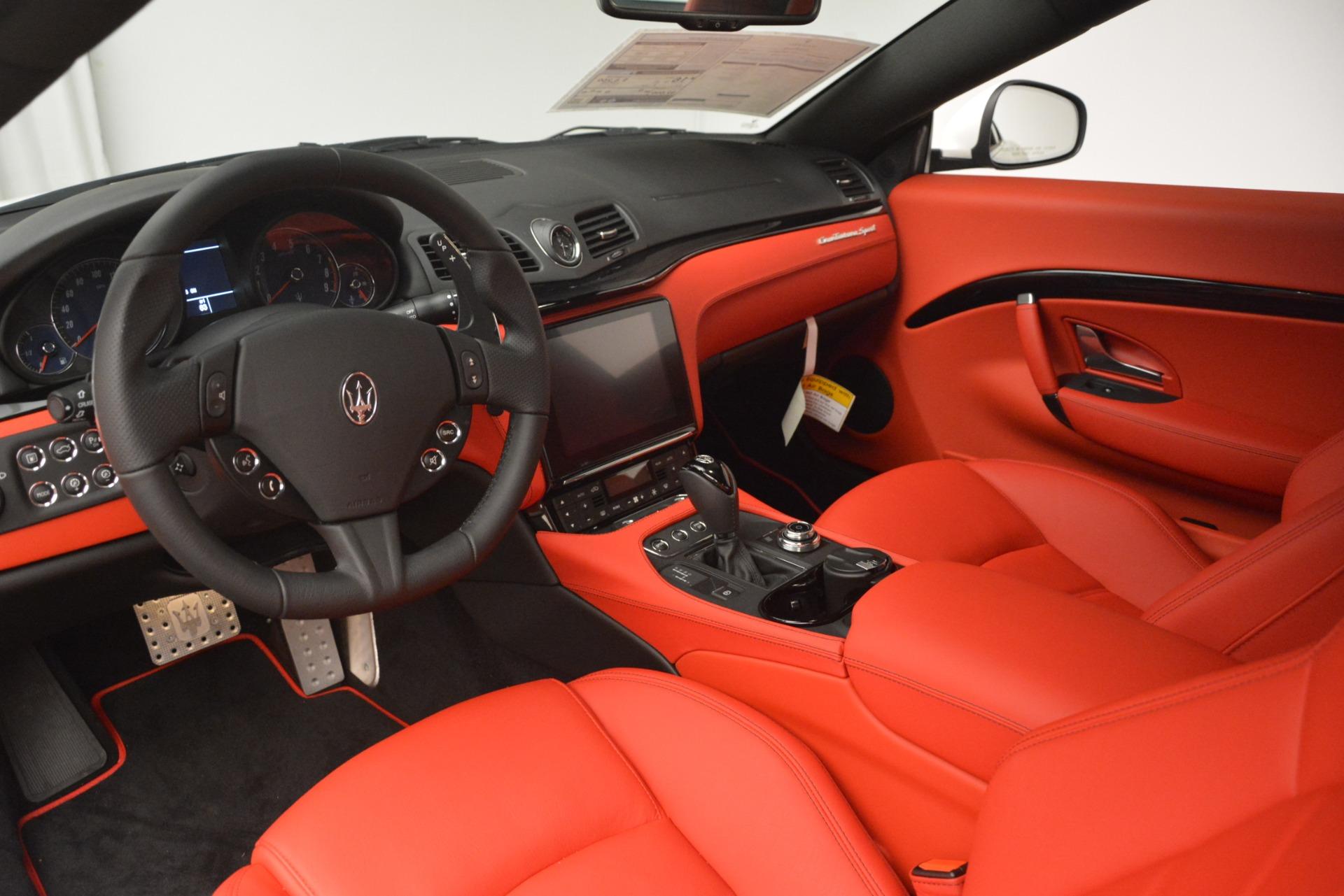 New 2018 Maserati GranTurismo Sport For Sale In Greenwich, CT 3083_p14