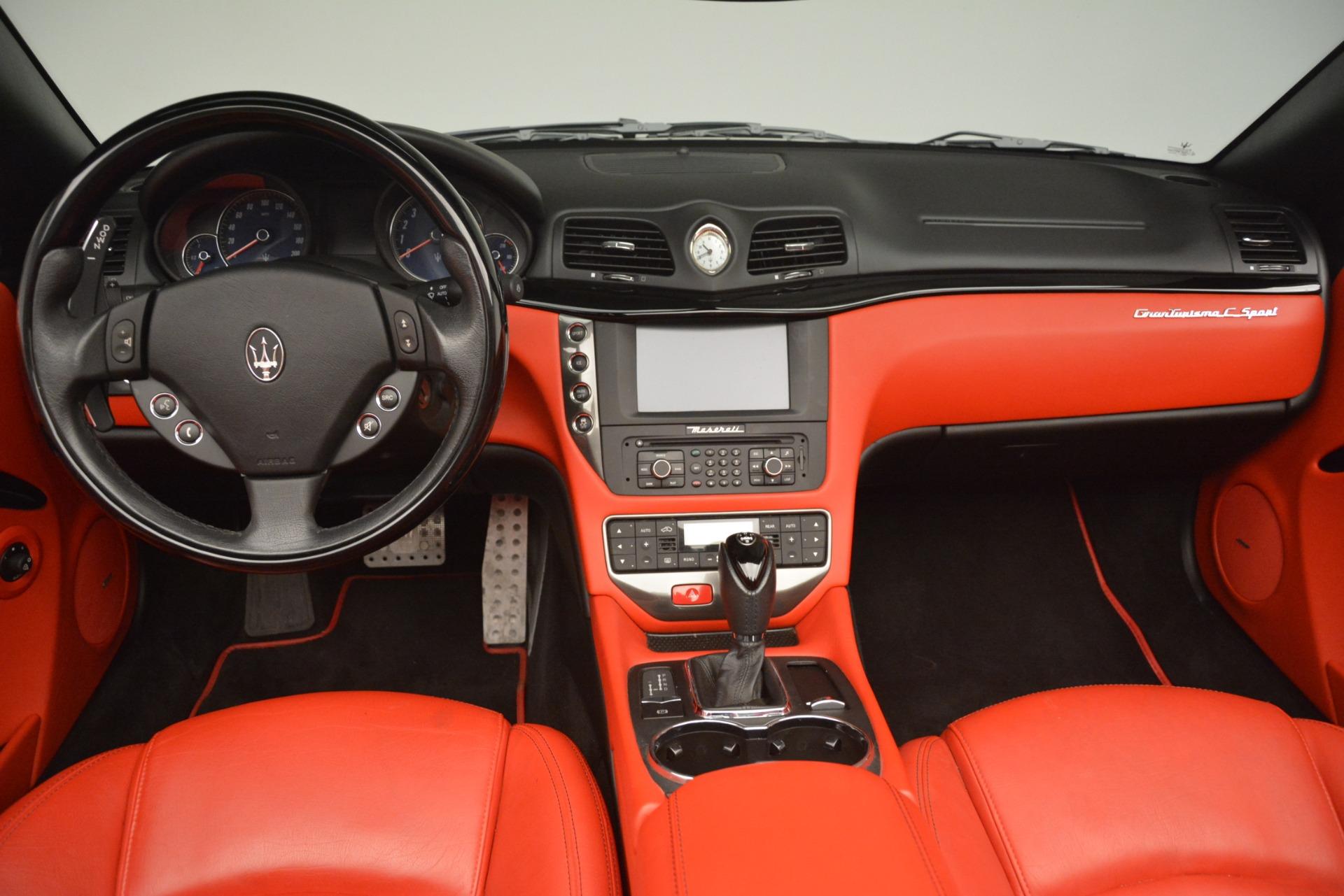 Used 2015 Maserati GranTurismo Sport For Sale In Greenwich, CT 3085_p28