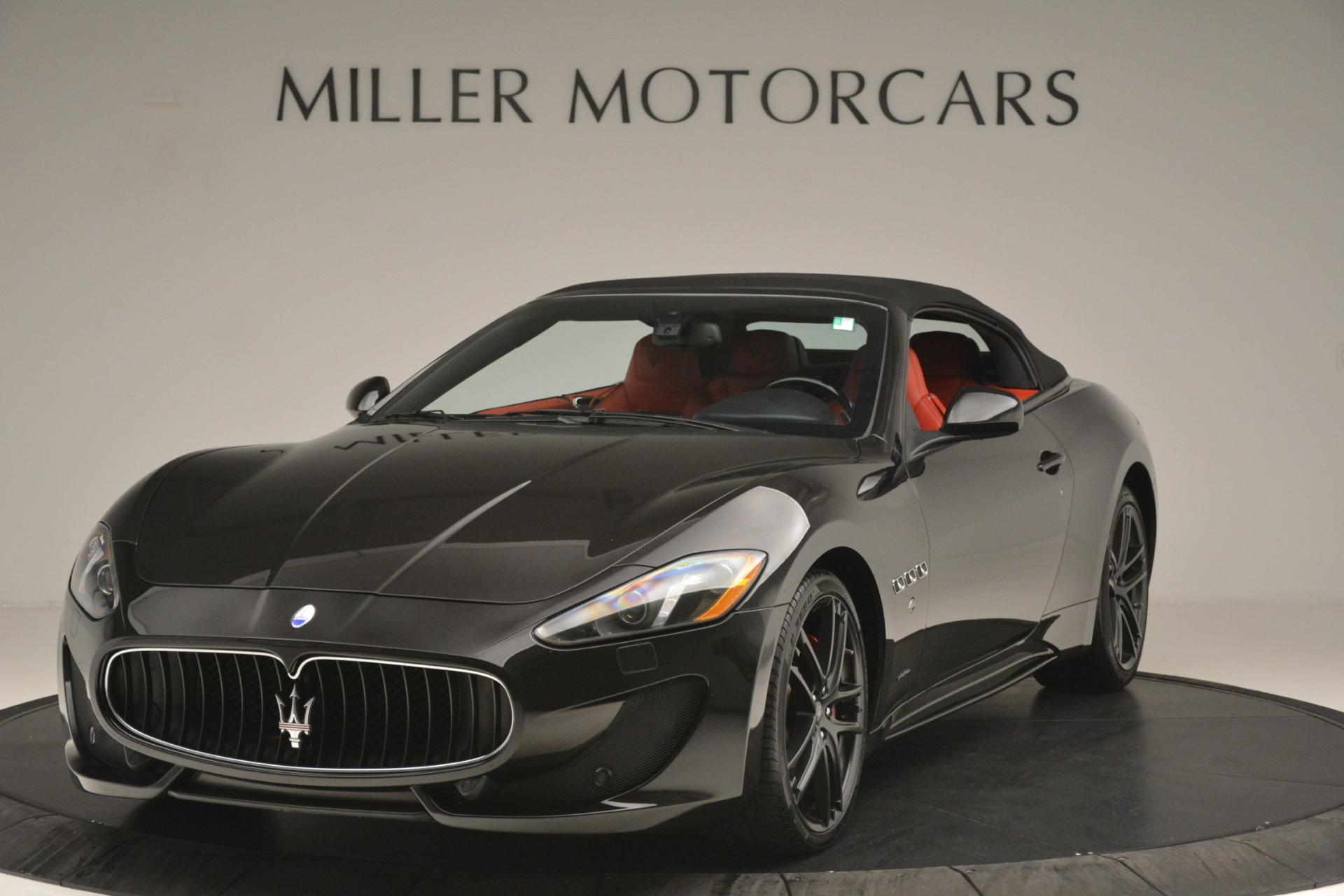 Used 2015 Maserati GranTurismo Sport For Sale In Greenwich, CT 3085_p2