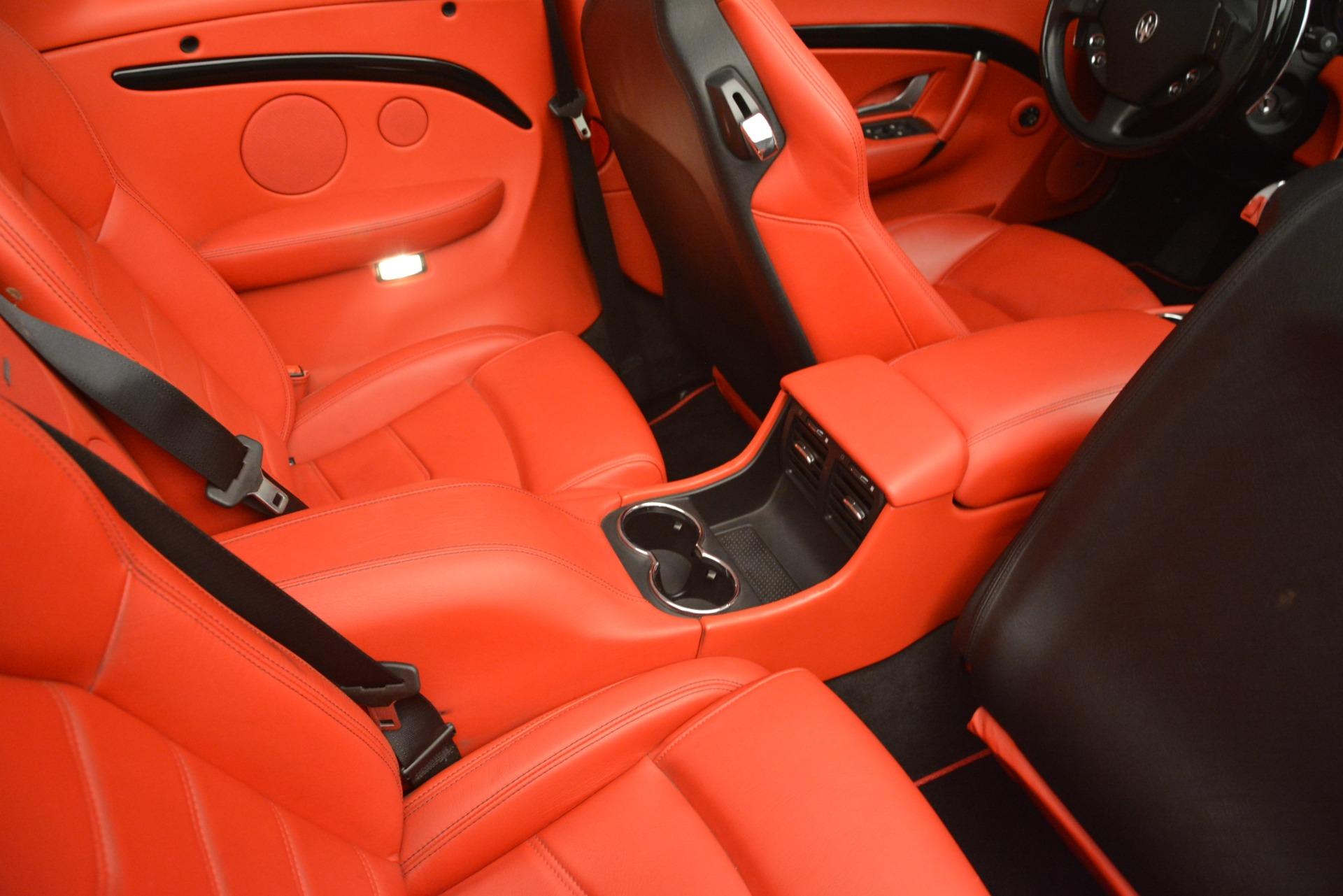 Used 2015 Maserati GranTurismo Sport For Sale In Greenwich, CT 3085_p39