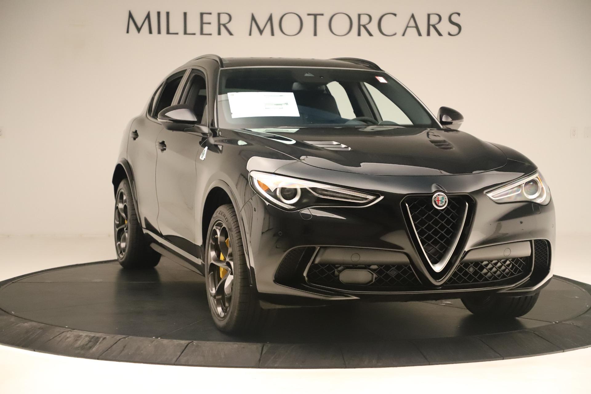 New 2019 Alfa Romeo Stelvio Quadrifoglio For Sale In Greenwich, CT 3093_p11