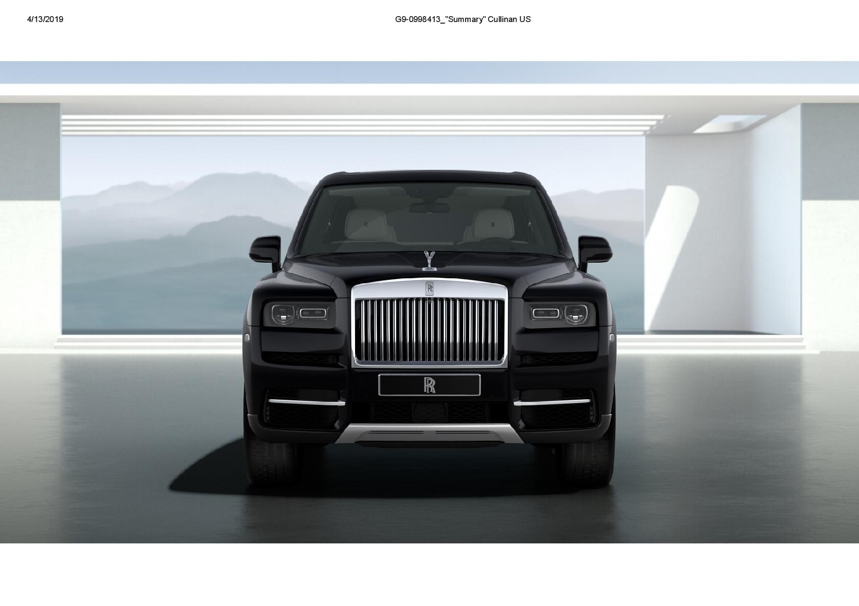 New 2019 Rolls-Royce Cullinan  For Sale In Greenwich, CT 3100_p2