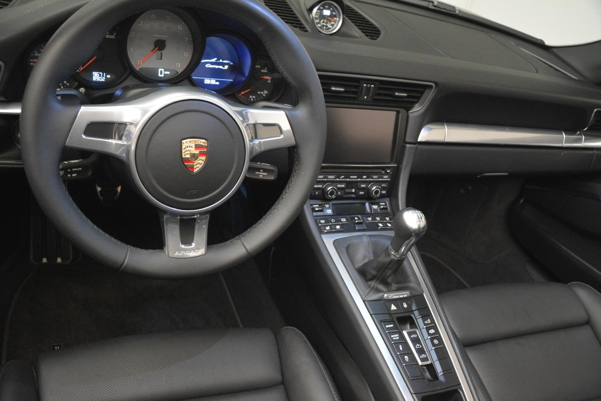 Used 2013 Porsche 911 Carrera S For Sale In Greenwich, CT 3107_p23