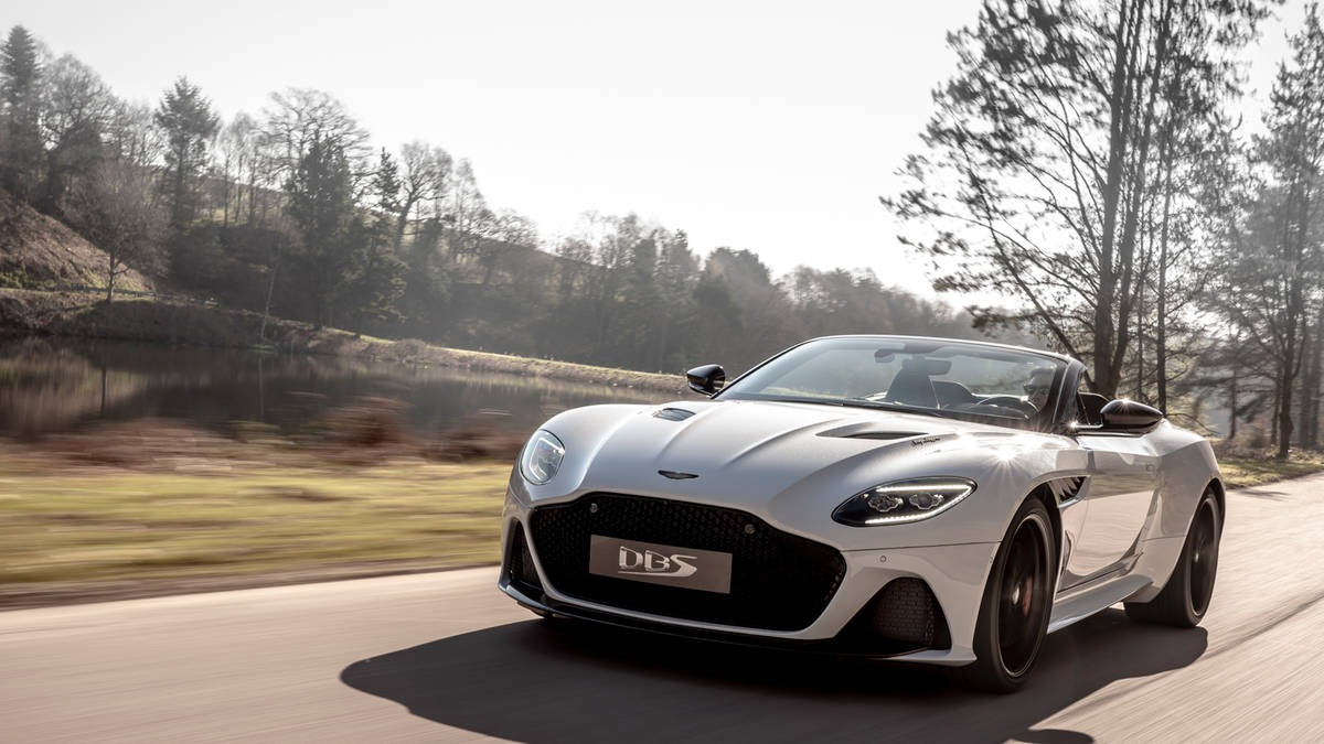 New 2020 Aston Martin DBS Convertible For Sale In Greenwich, CT 3108_main