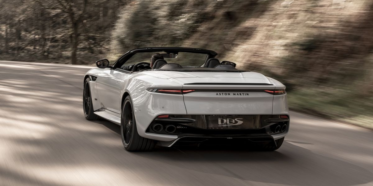 New 2020 Aston Martin DBS Convertible For Sale In Greenwich, CT 3108_p3