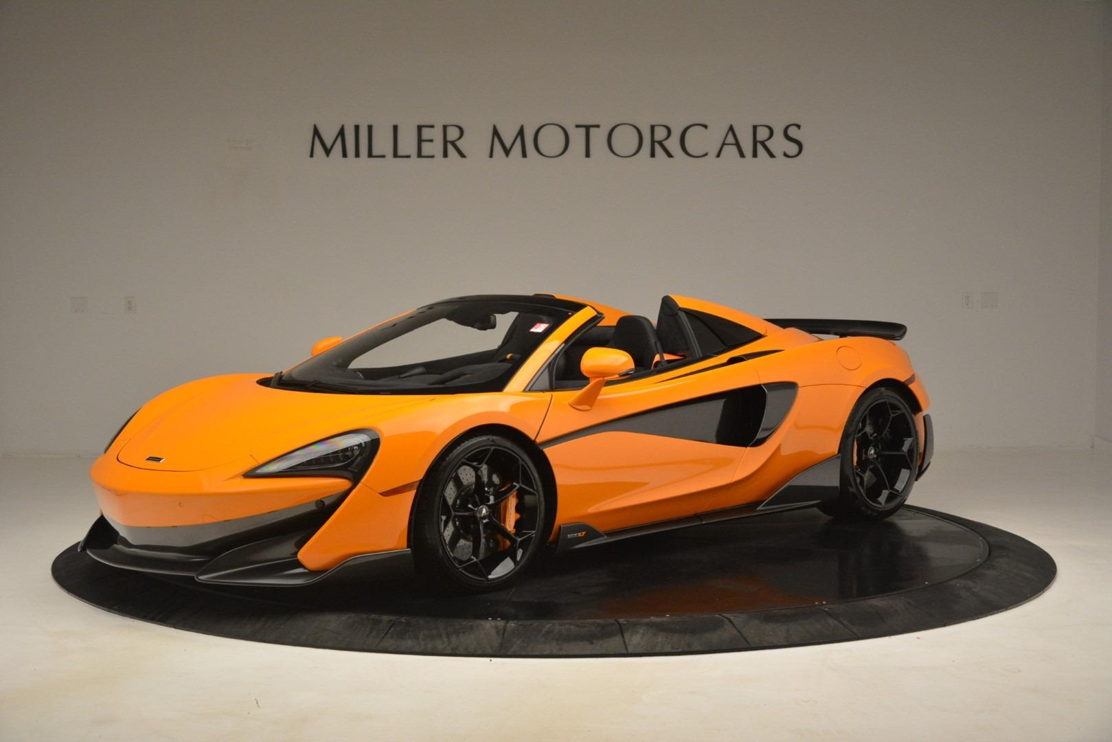New 2020 McLaren 600LT Spider Convertible For Sale In Greenwich, CT 3109_main