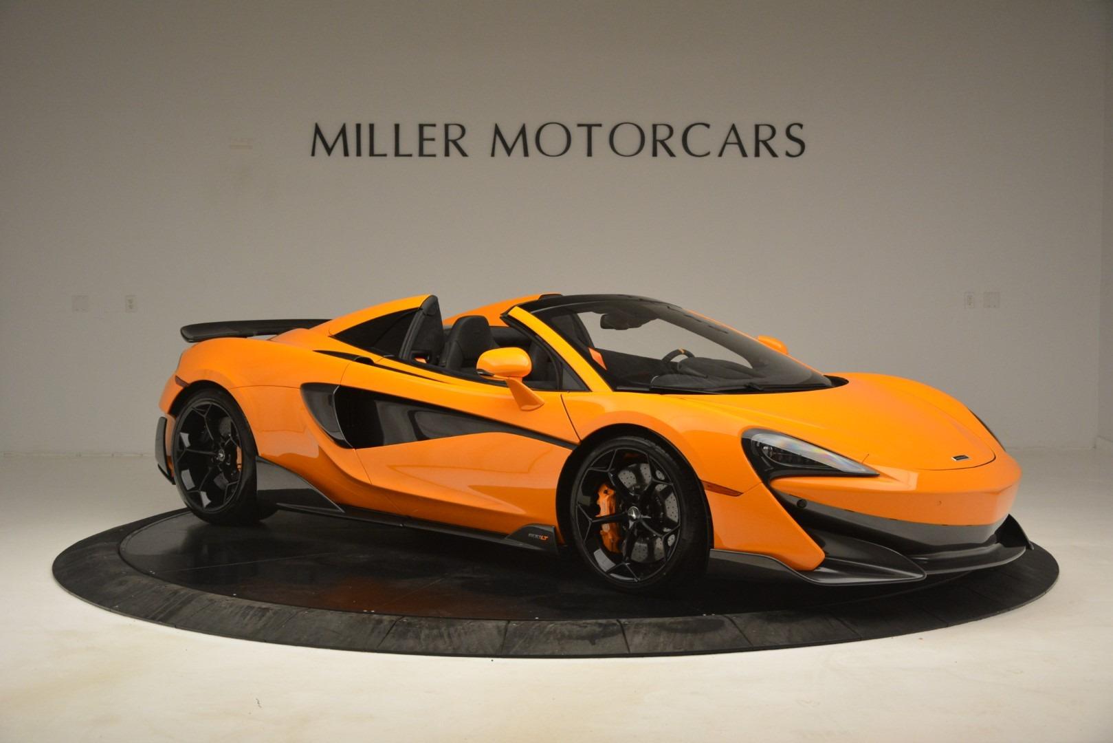 New 2020 McLaren 600LT Spider Convertible For Sale In Greenwich, CT 3109_p10