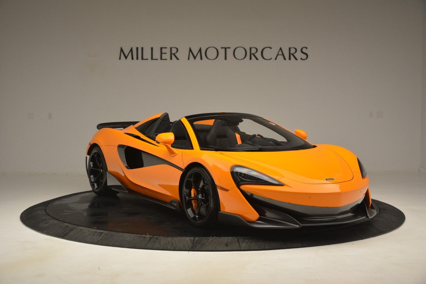 New 2020 McLaren 600LT Spider Convertible For Sale In Greenwich, CT 3109_p11