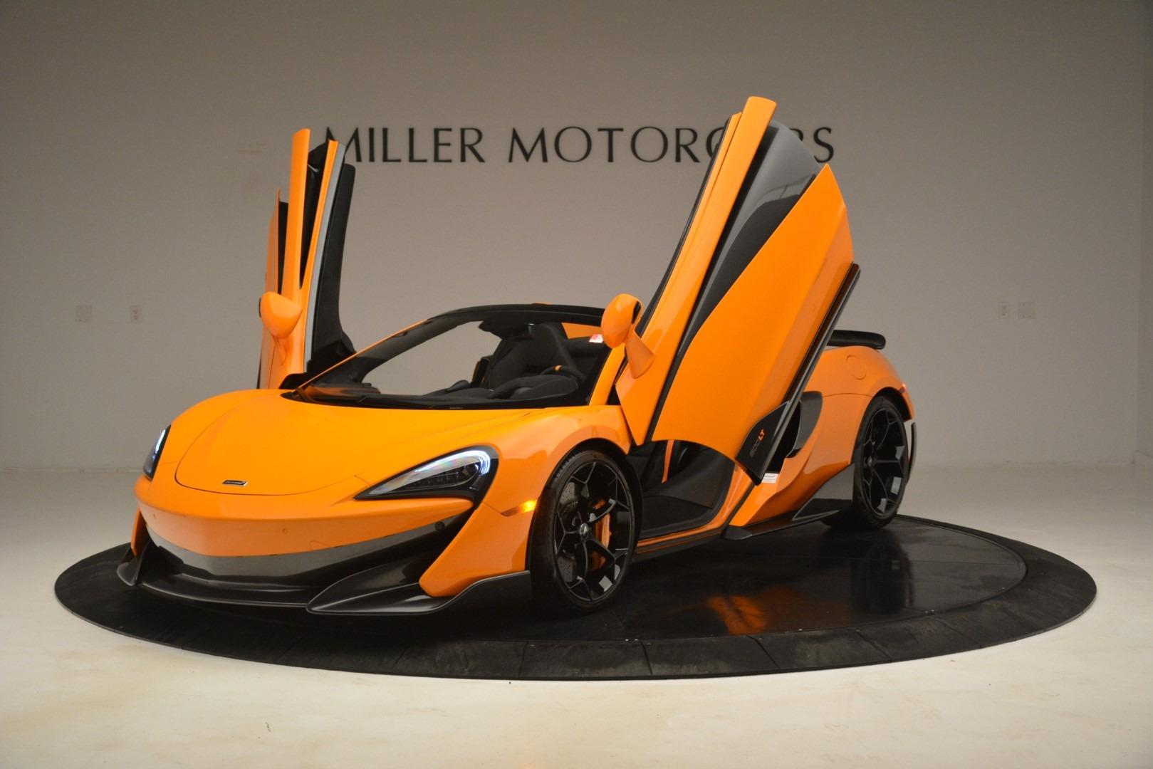 New 2020 McLaren 600LT Spider Convertible For Sale In Greenwich, CT 3109_p14