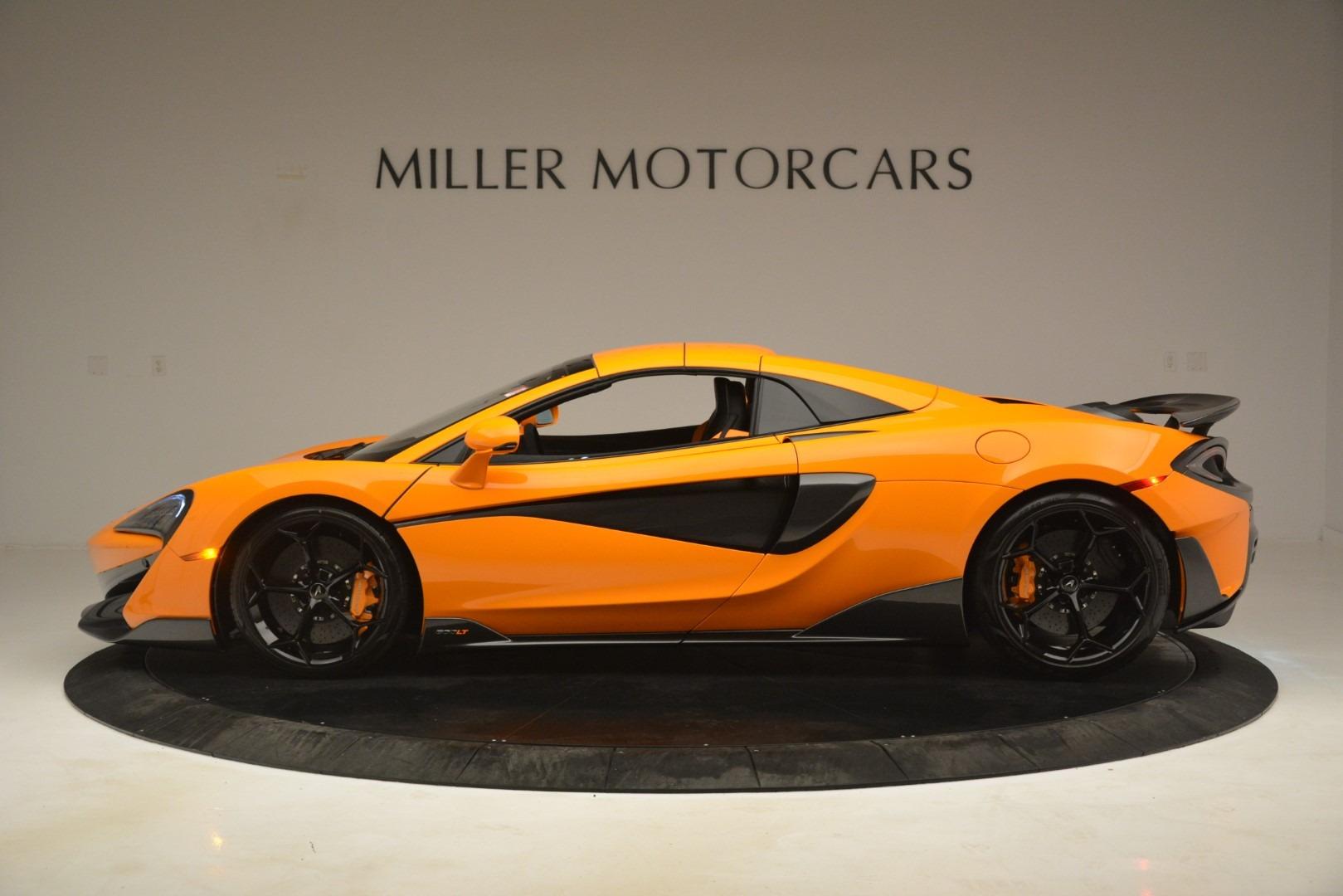 New 2020 McLaren 600LT Spider Convertible For Sale In Greenwich, CT 3109_p16