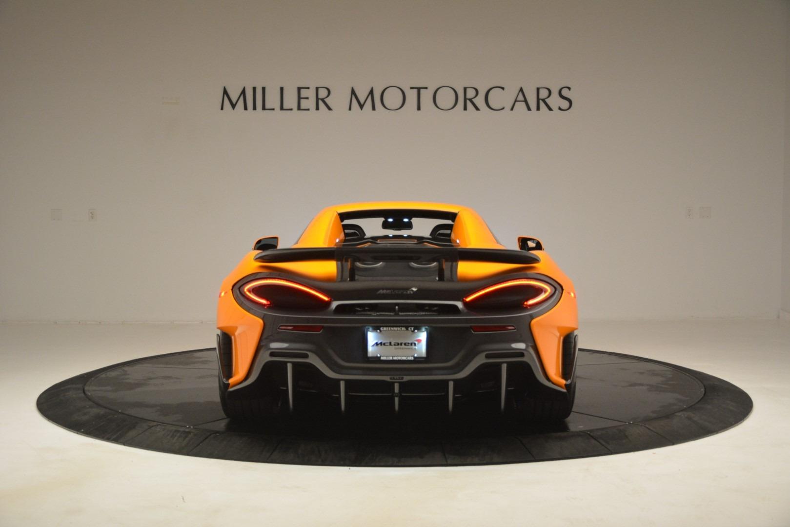 New 2020 McLaren 600LT Spider Convertible For Sale In Greenwich, CT 3109_p18