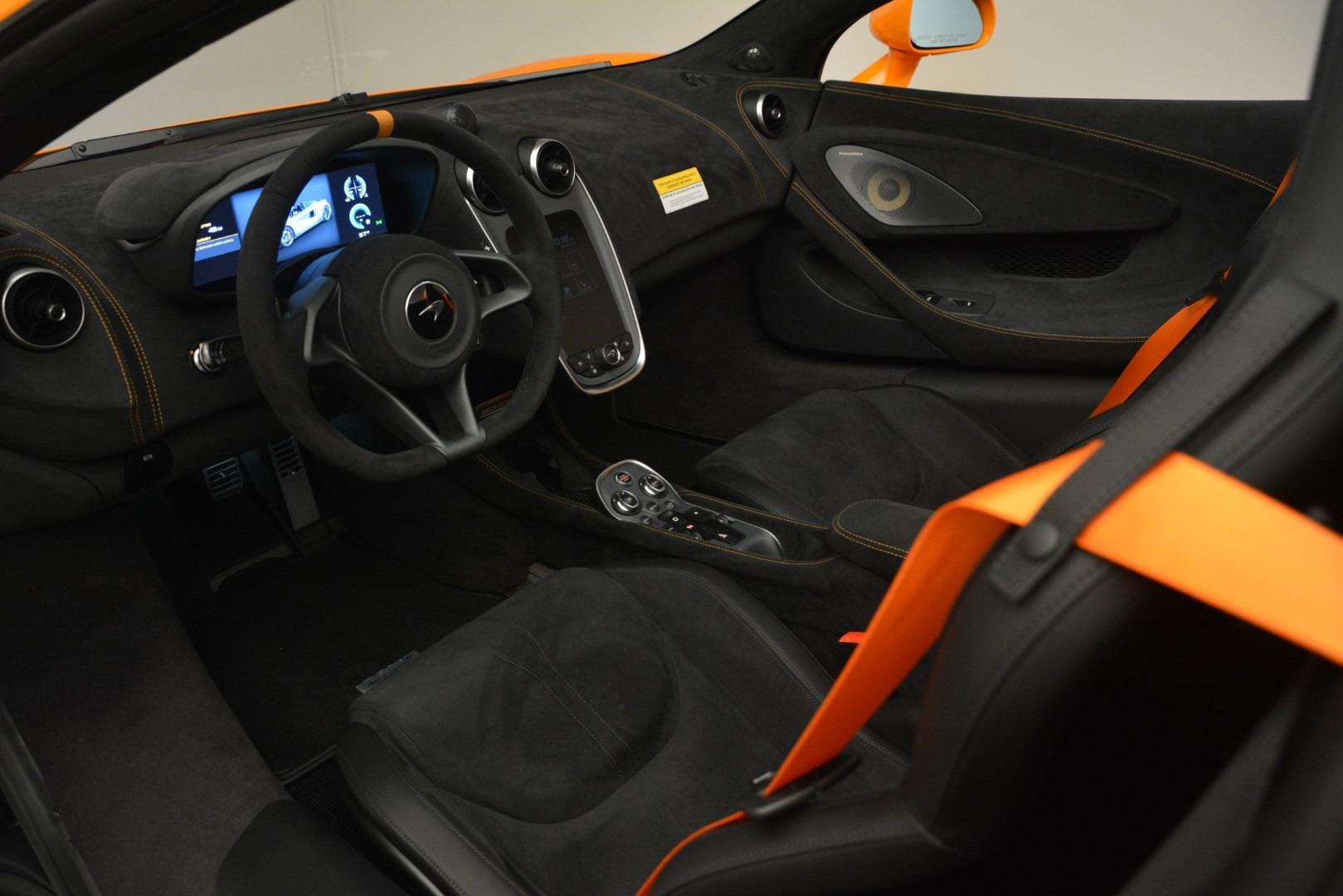 New 2020 McLaren 600LT Spider Convertible For Sale In Greenwich, CT 3109_p24