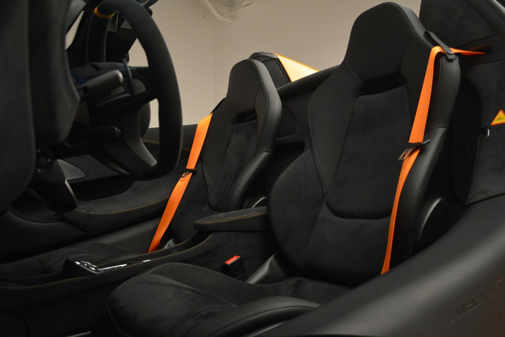 New 2020 McLaren 600LT Spider Convertible For Sale In Greenwich, CT 3109_p26