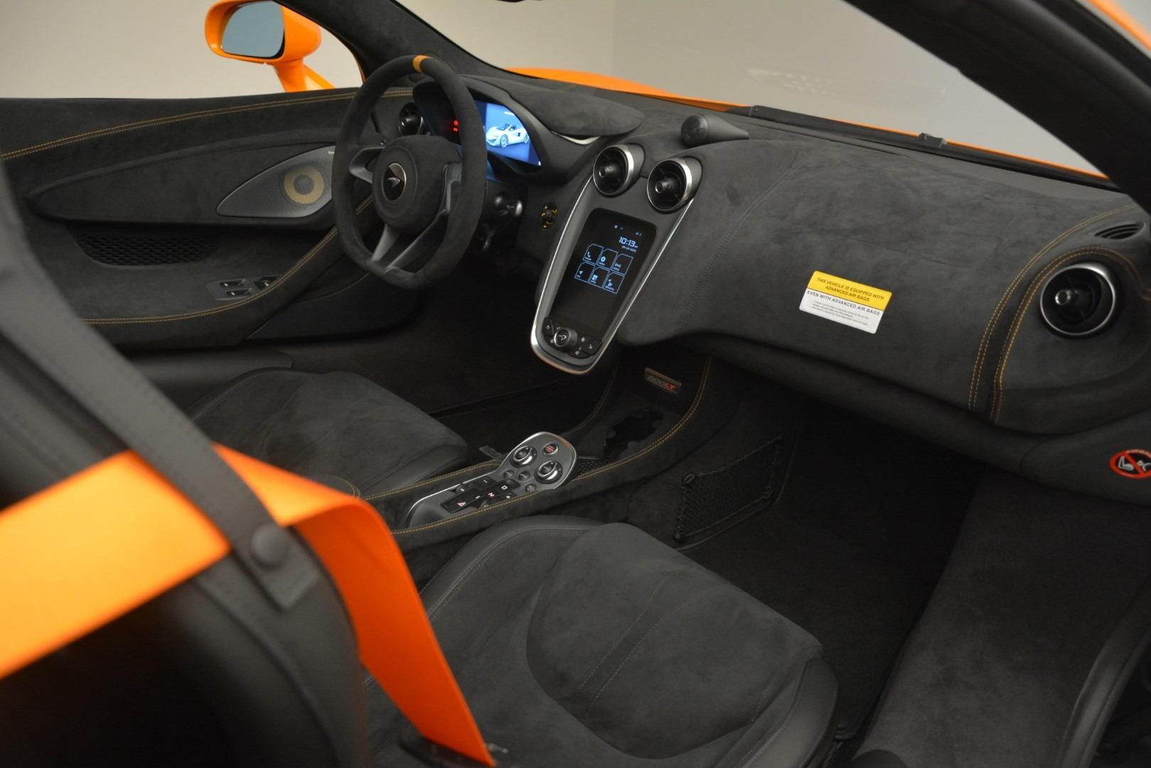 New 2020 McLaren 600LT Spider Convertible For Sale In Greenwich, CT 3109_p27