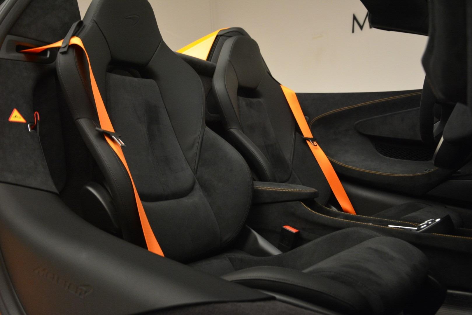 New 2020 McLaren 600LT Spider Convertible For Sale In Greenwich, CT 3109_p29