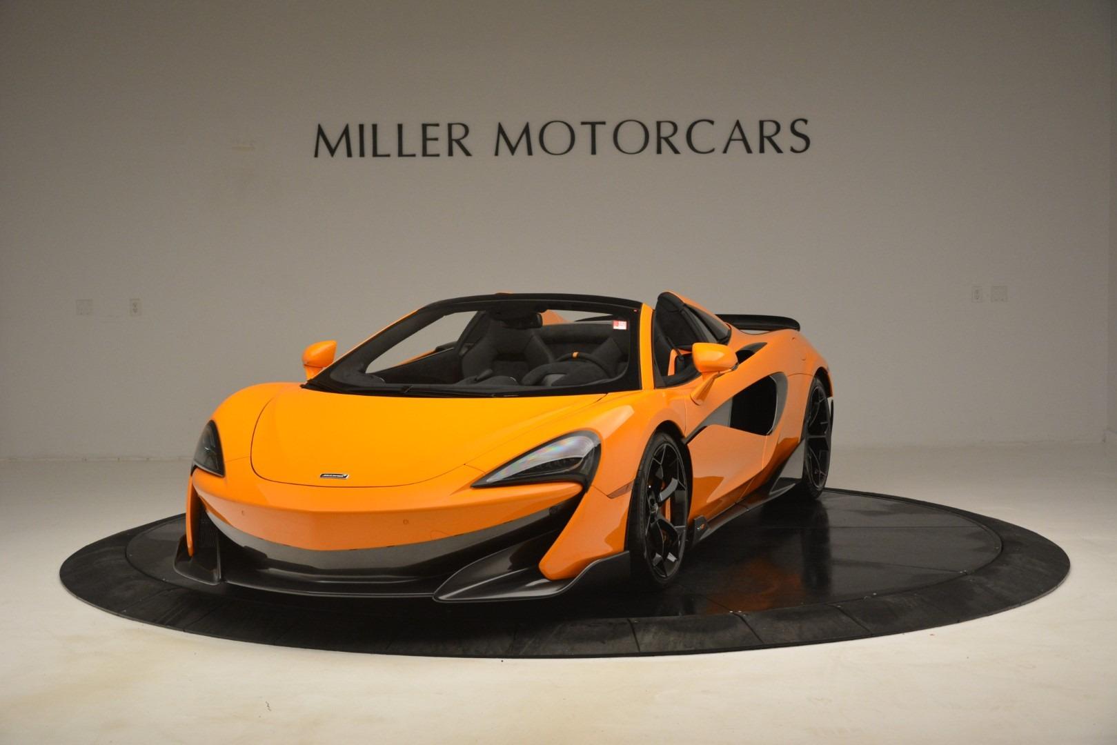 New 2020 McLaren 600LT Spider Convertible For Sale In Greenwich, CT 3109_p2