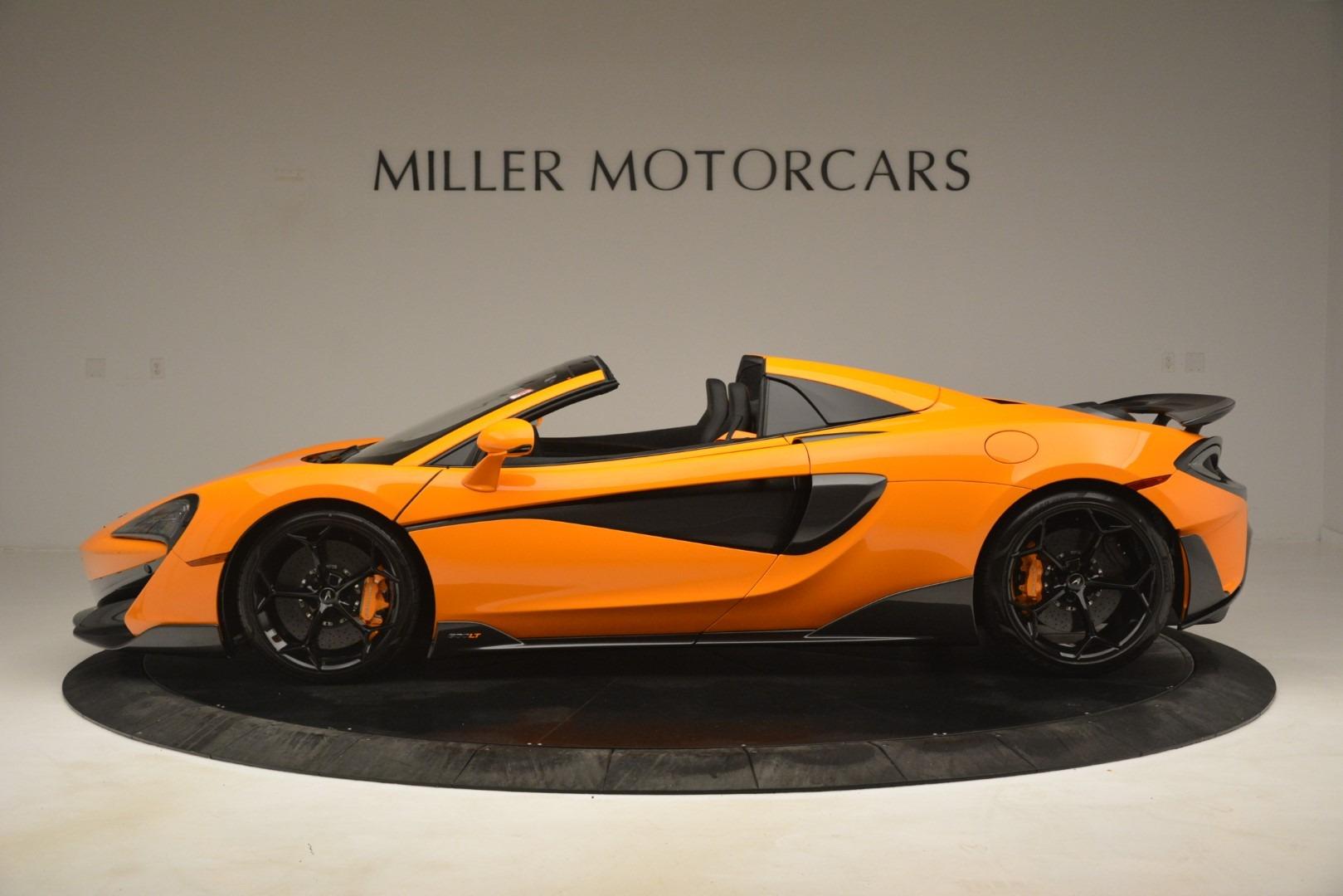 New 2020 McLaren 600LT Spider Convertible For Sale In Greenwich, CT 3109_p3