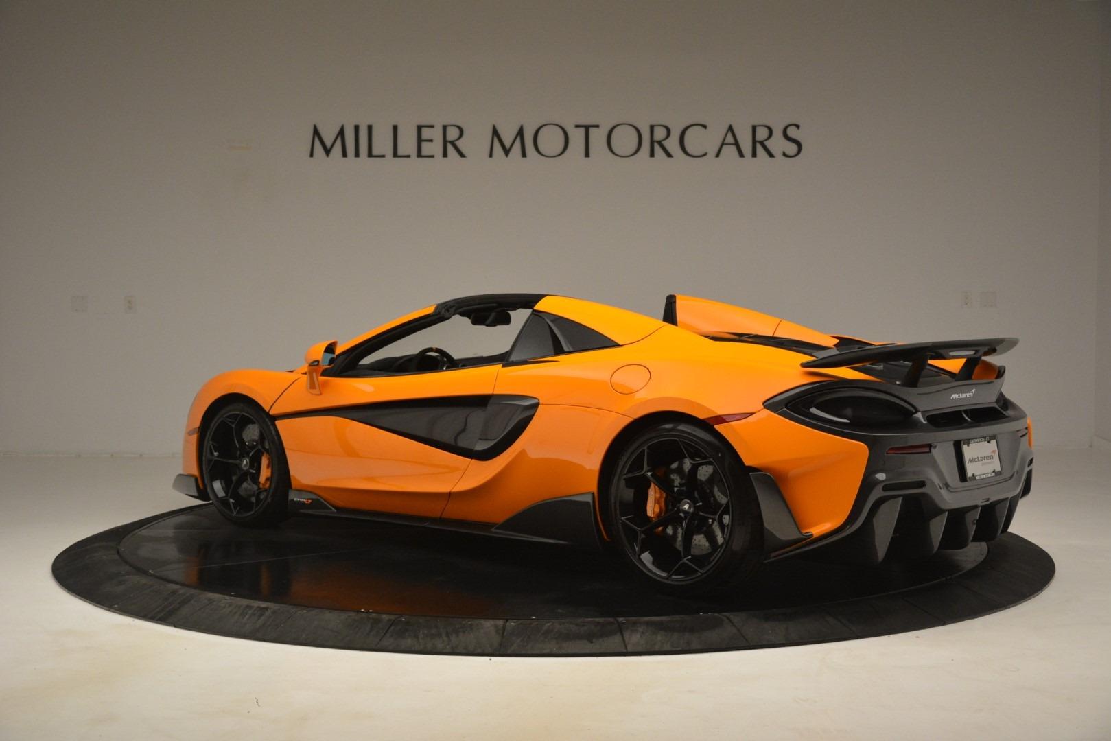 New 2020 McLaren 600LT Spider Convertible For Sale In Greenwich, CT 3109_p4