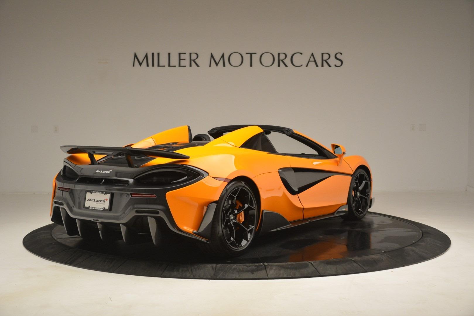 New 2020 McLaren 600LT Spider Convertible For Sale In Greenwich, CT 3109_p7