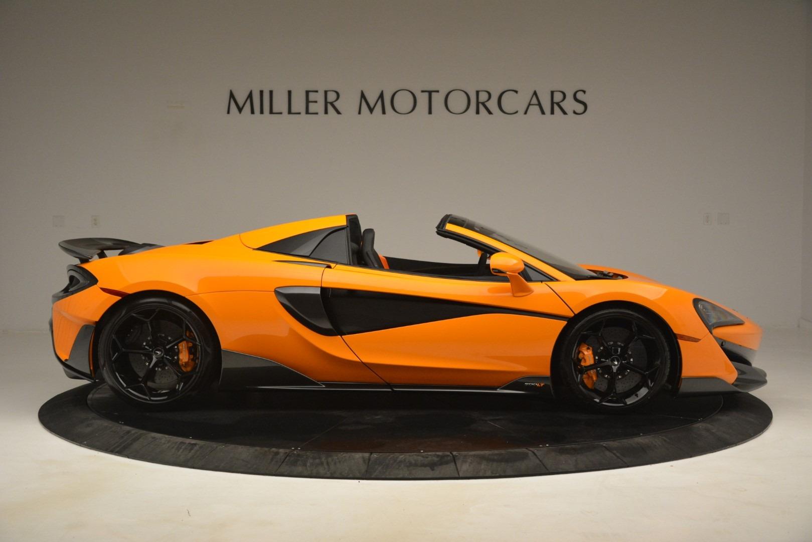 New 2020 McLaren 600LT Spider Convertible For Sale In Greenwich, CT 3109_p9