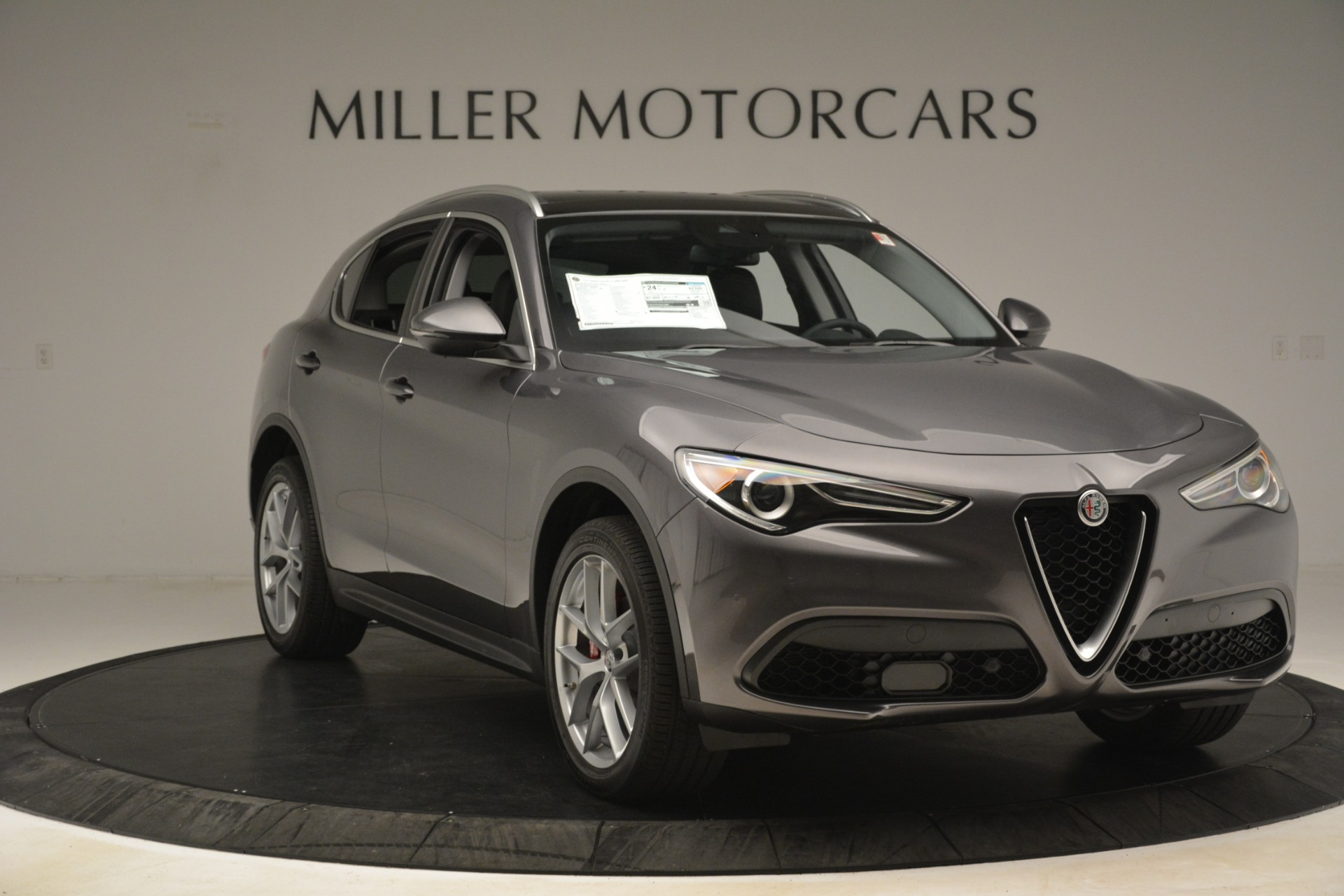 New 2019 Alfa Romeo Stelvio Ti Lusso Q4 For Sale In Greenwich, CT 3128_p11