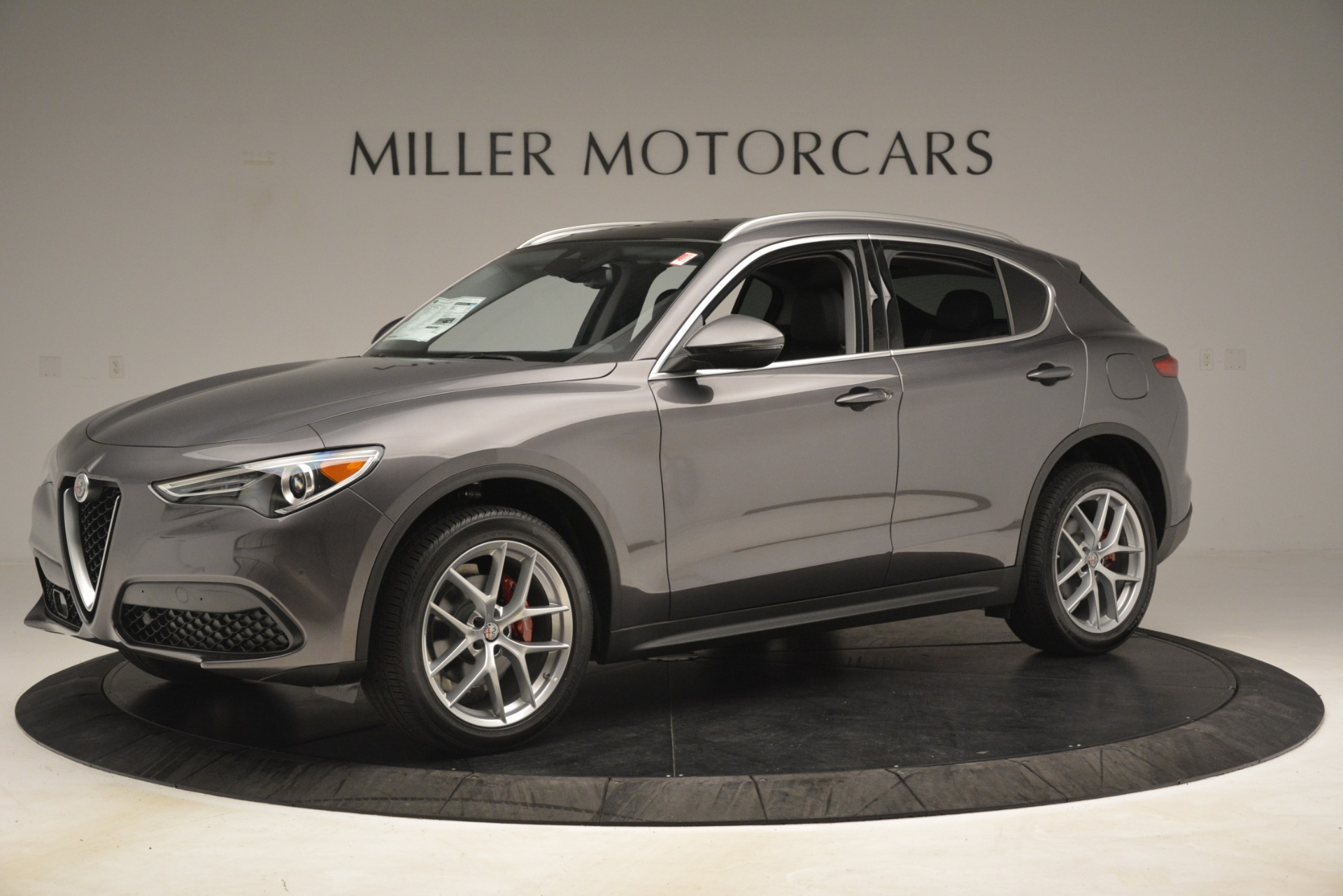 New 2019 Alfa Romeo Stelvio Ti Lusso Q4 For Sale In Greenwich, CT 3128_p2