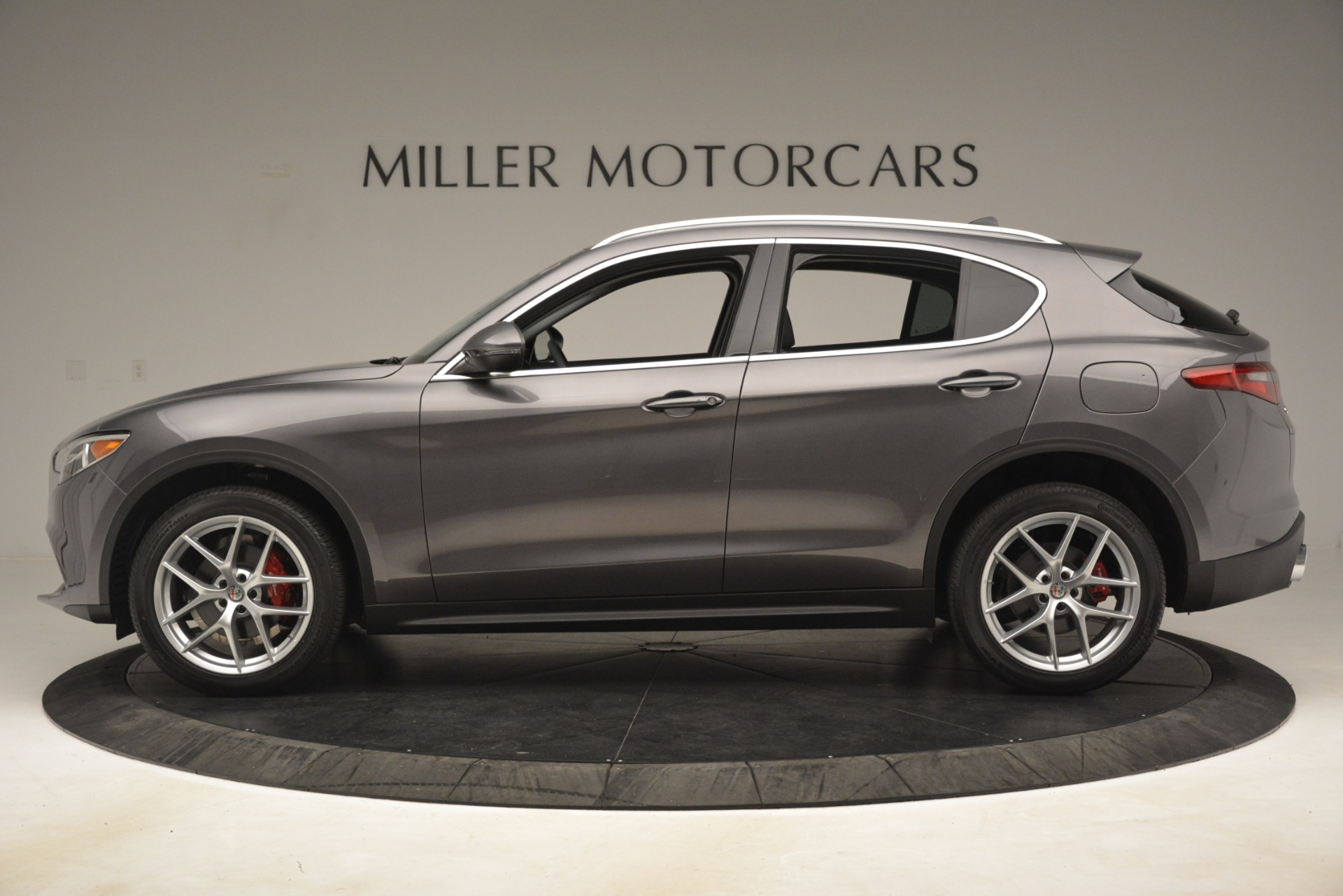 New 2019 Alfa Romeo Stelvio Ti Lusso Q4 For Sale In Greenwich, CT 3128_p3