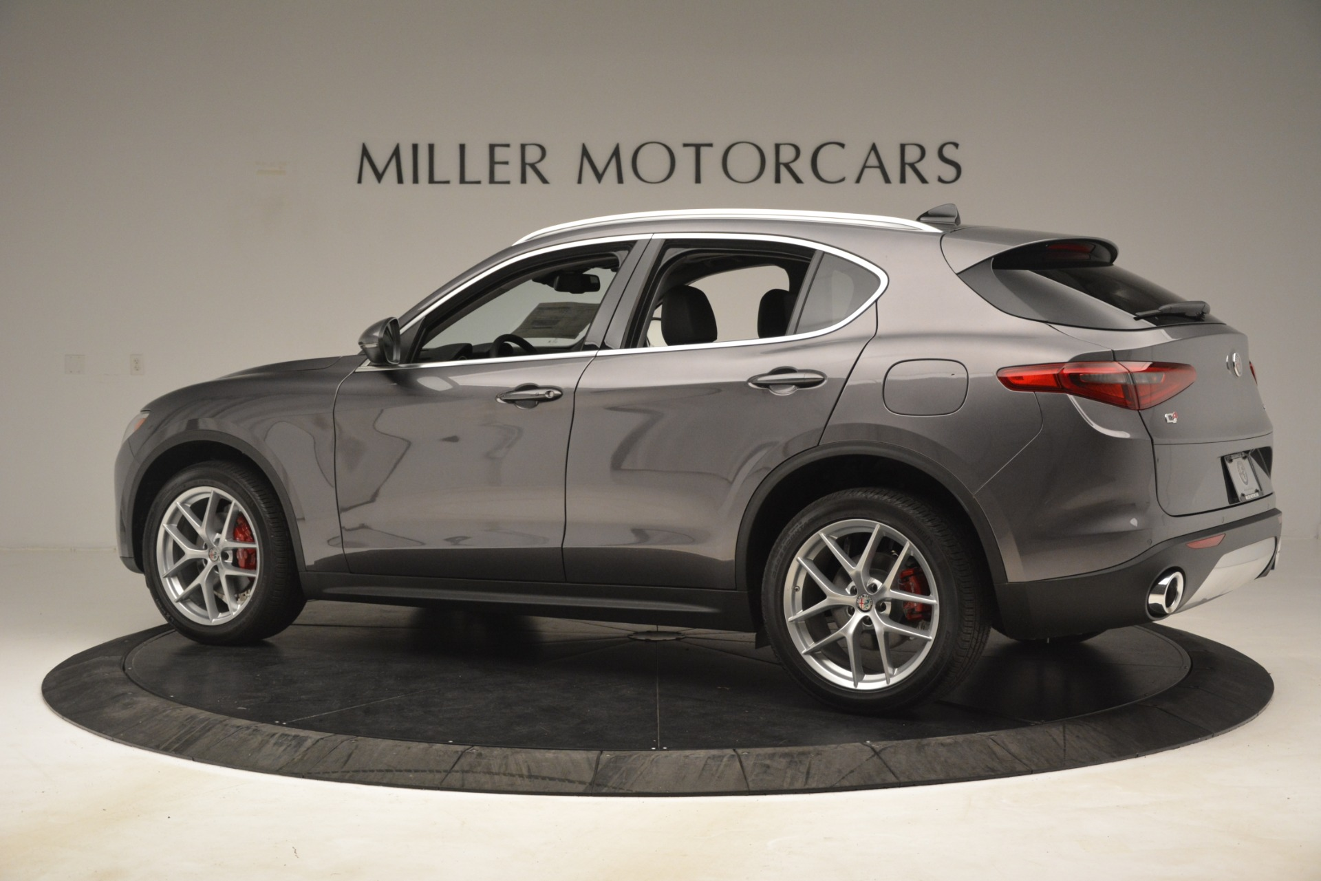 New 2019 Alfa Romeo Stelvio Ti Lusso Q4 For Sale In Greenwich, CT 3128_p4