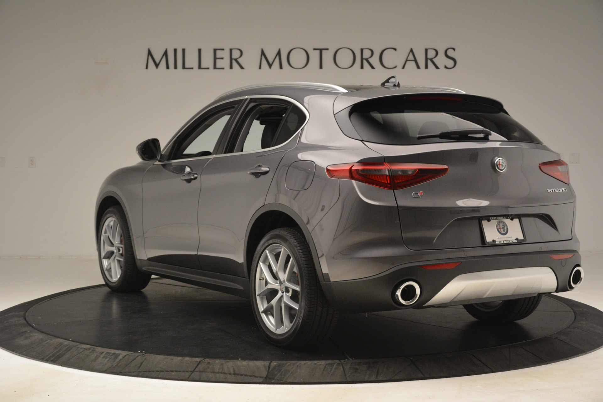 New 2019 Alfa Romeo Stelvio Ti Lusso Q4 For Sale In Greenwich, CT 3128_p5