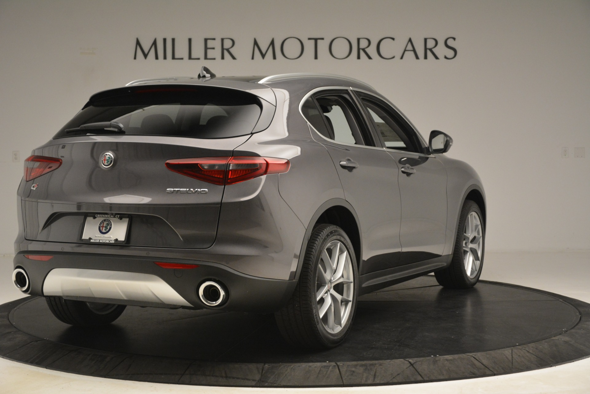 New 2019 Alfa Romeo Stelvio Ti Lusso Q4 For Sale In Greenwich, CT 3128_p7