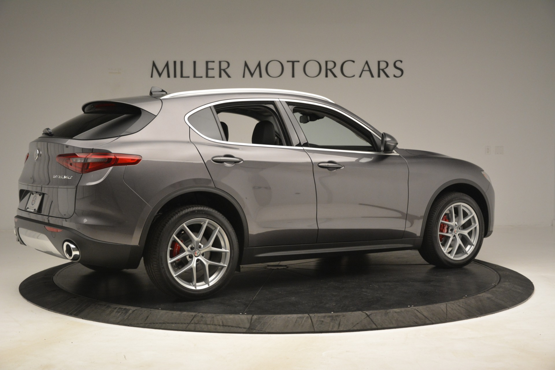 New 2019 Alfa Romeo Stelvio Ti Lusso Q4 For Sale In Greenwich, CT 3128_p8