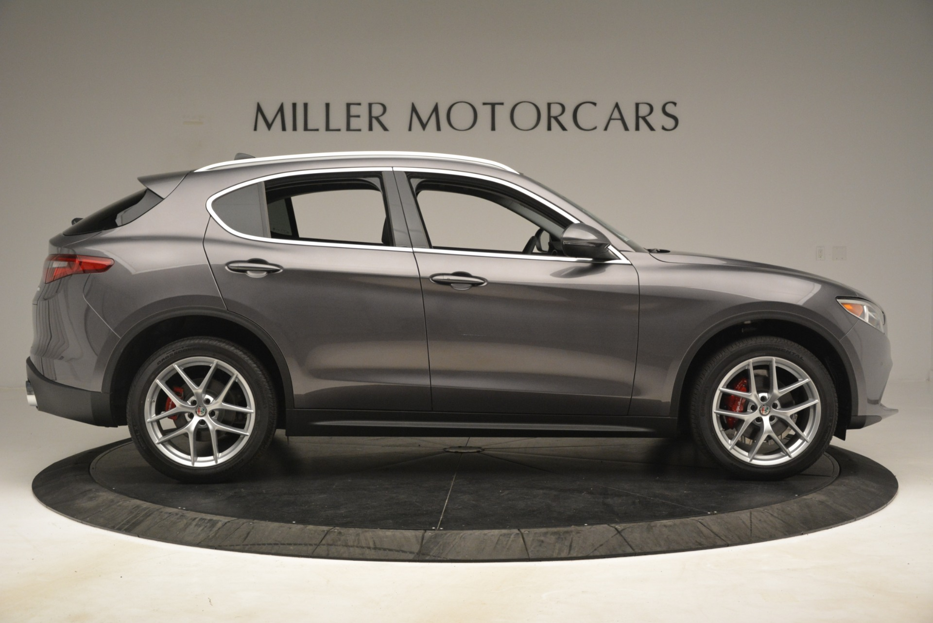 New 2019 Alfa Romeo Stelvio Ti Lusso Q4 For Sale In Greenwich, CT 3128_p9