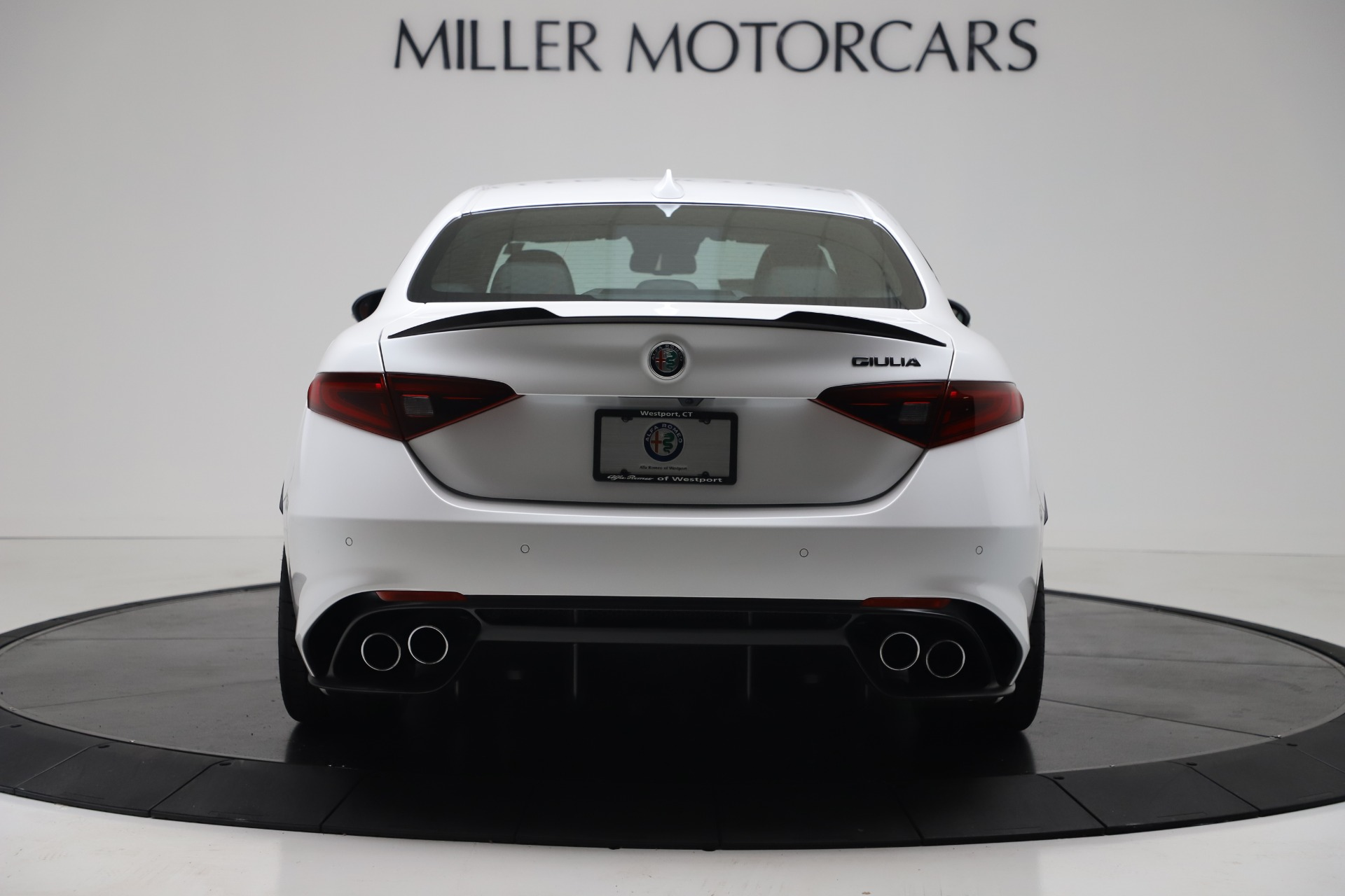 New 2019 Alfa Romeo Giulia Quadrifoglio For Sale In Greenwich, CT 3130_p6