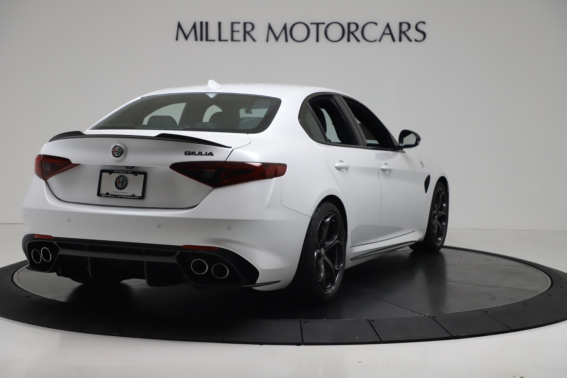 New 2019 Alfa Romeo Giulia Quadrifoglio For Sale In Greenwich, CT 3130_p7