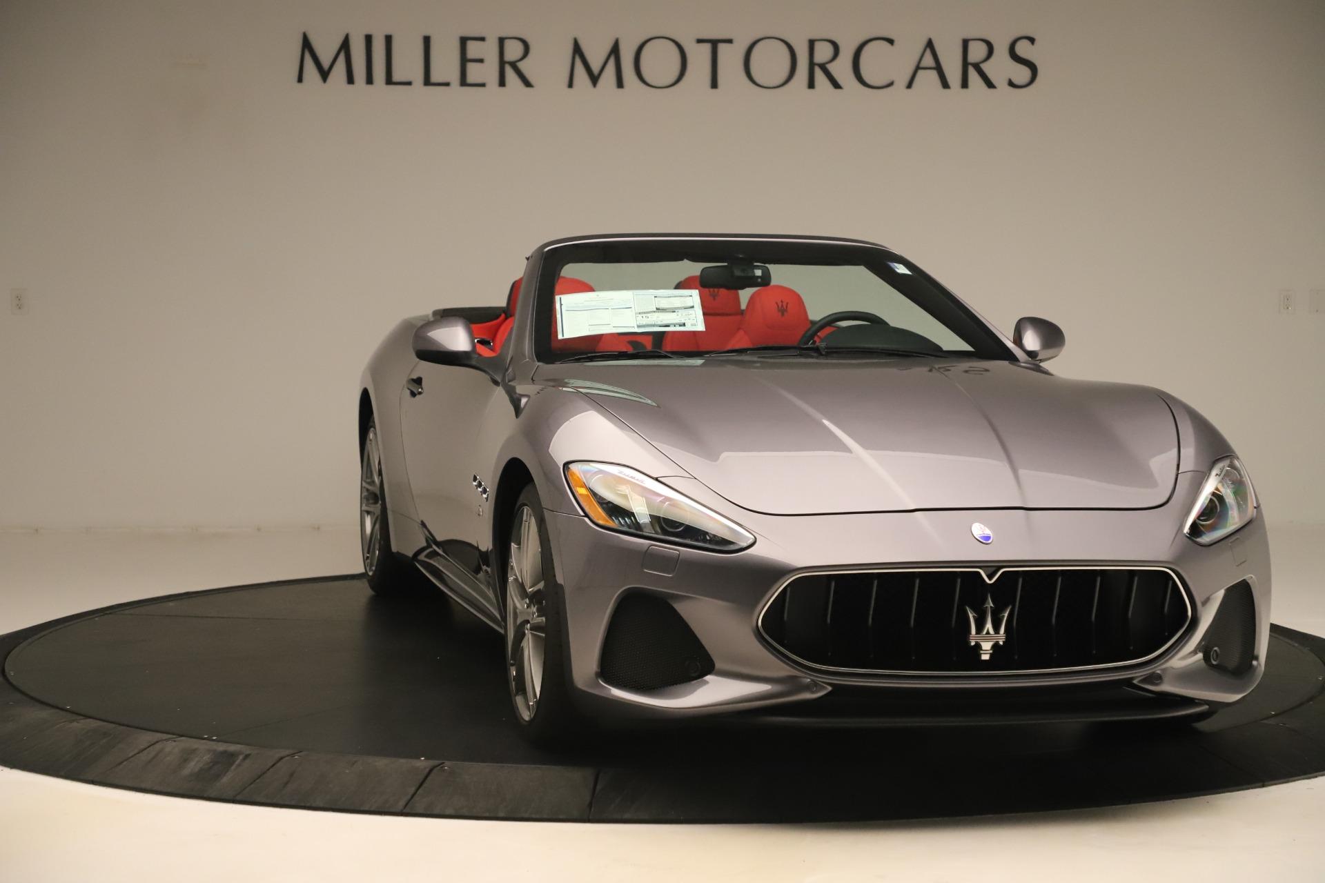 New 2018 Maserati GranTurismo Sport Convertible For Sale In Greenwich, CT 3131_p11