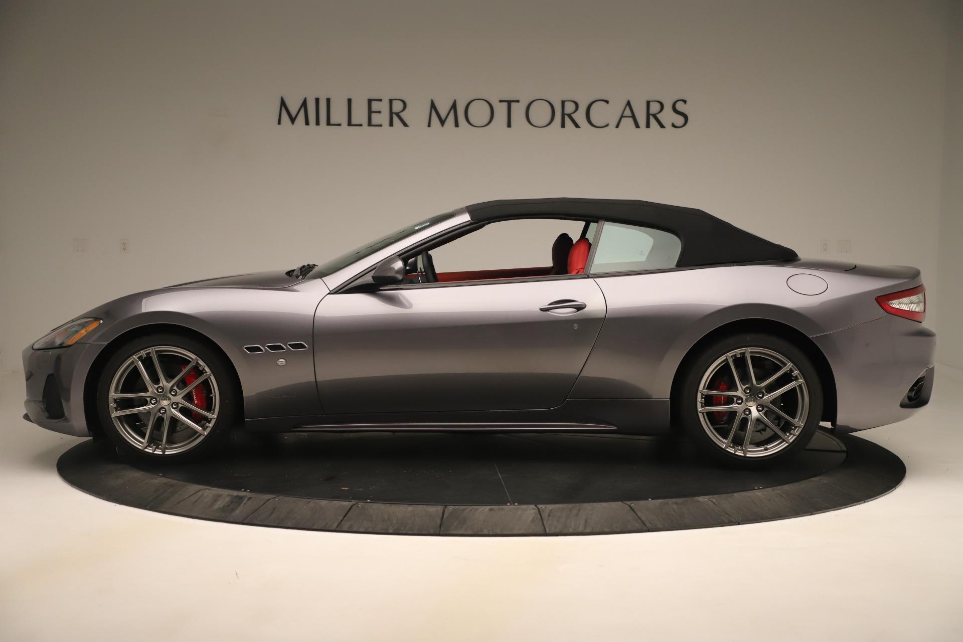 New 2018 Maserati GranTurismo Sport Convertible For Sale In Greenwich, CT 3131_p14