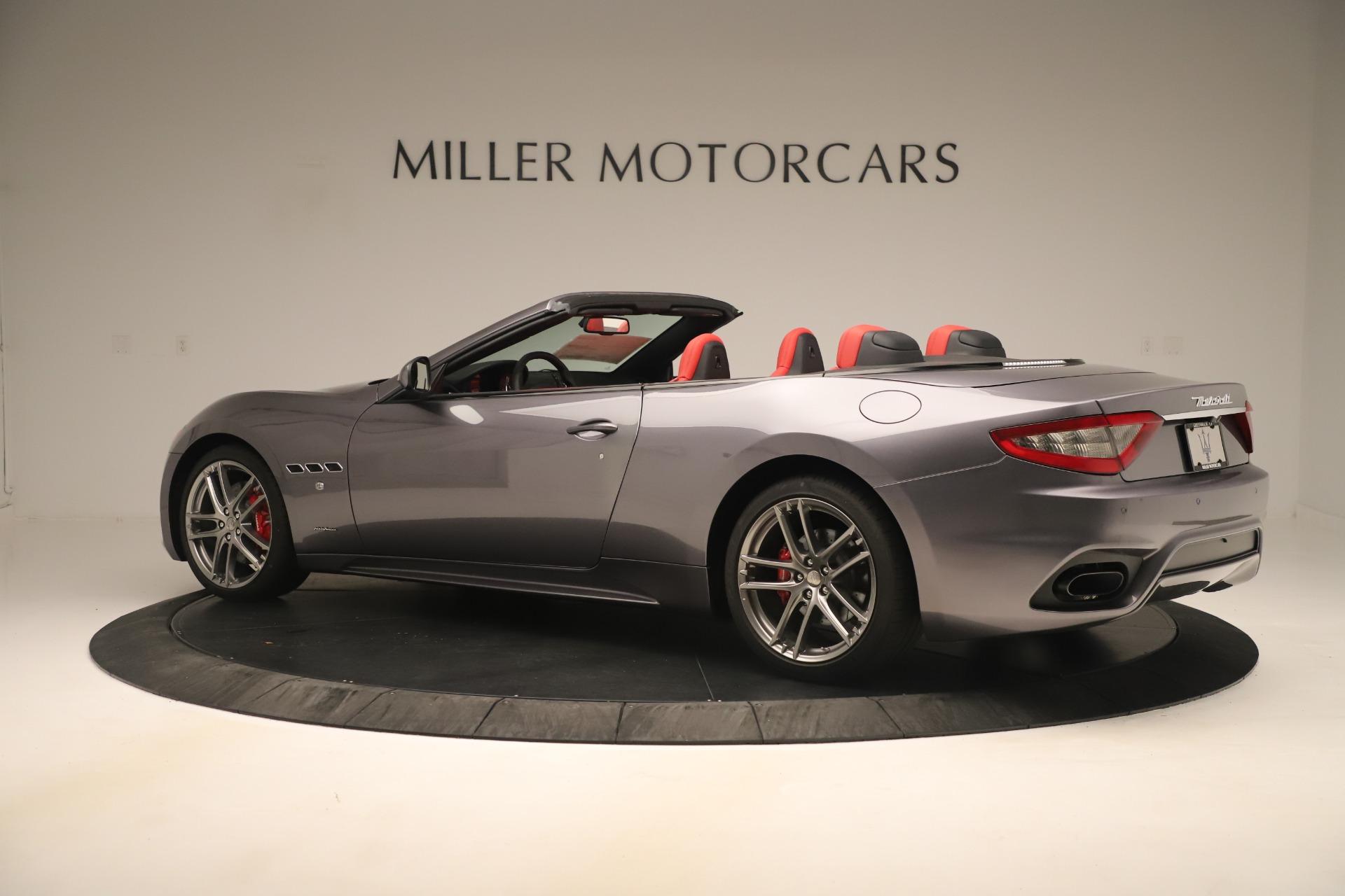 New 2018 Maserati GranTurismo Sport Convertible For Sale In Greenwich, CT 3131_p4