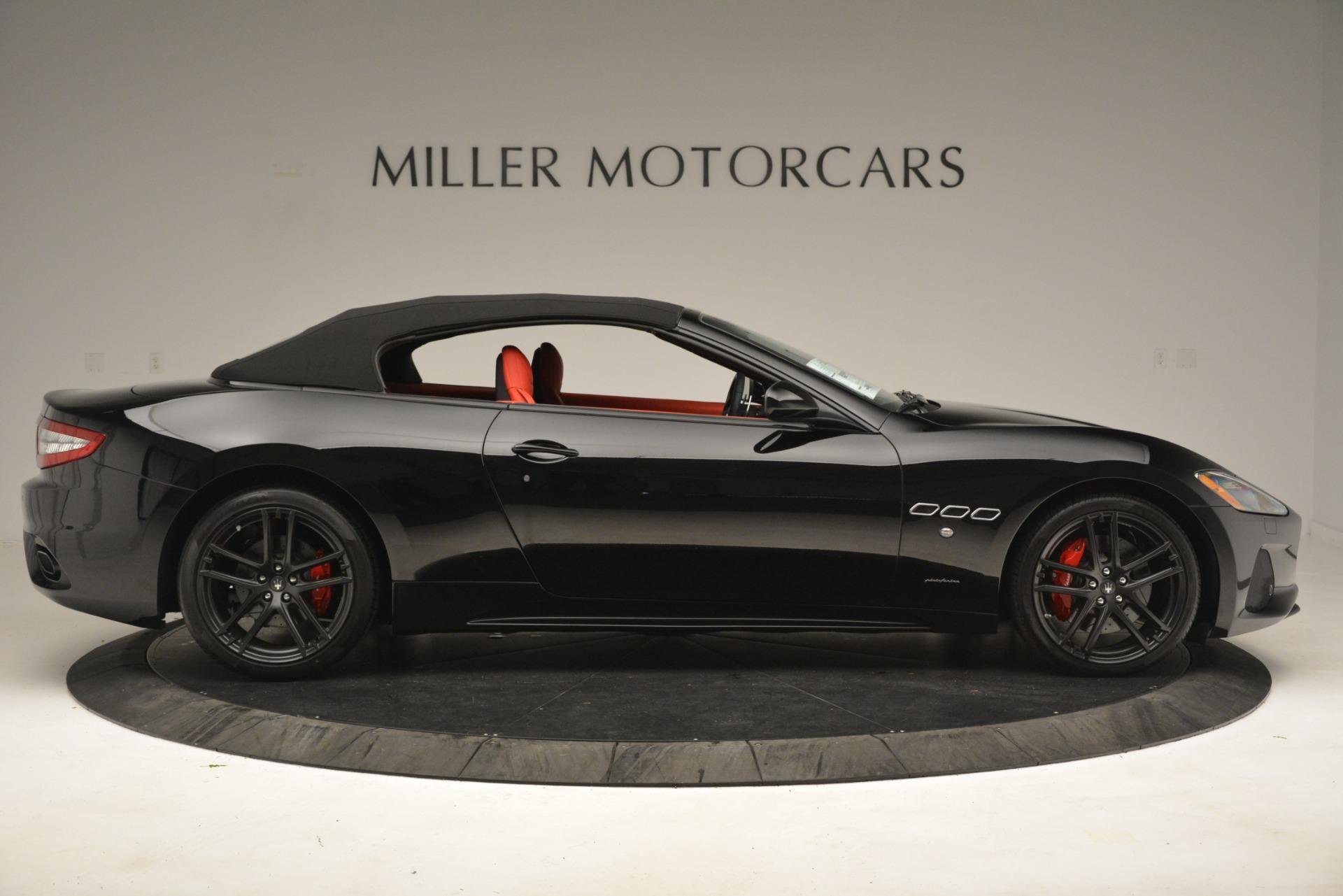 New 2018 Maserati GranTurismo Sport Convertible For Sale In Greenwich, CT 3137_p18