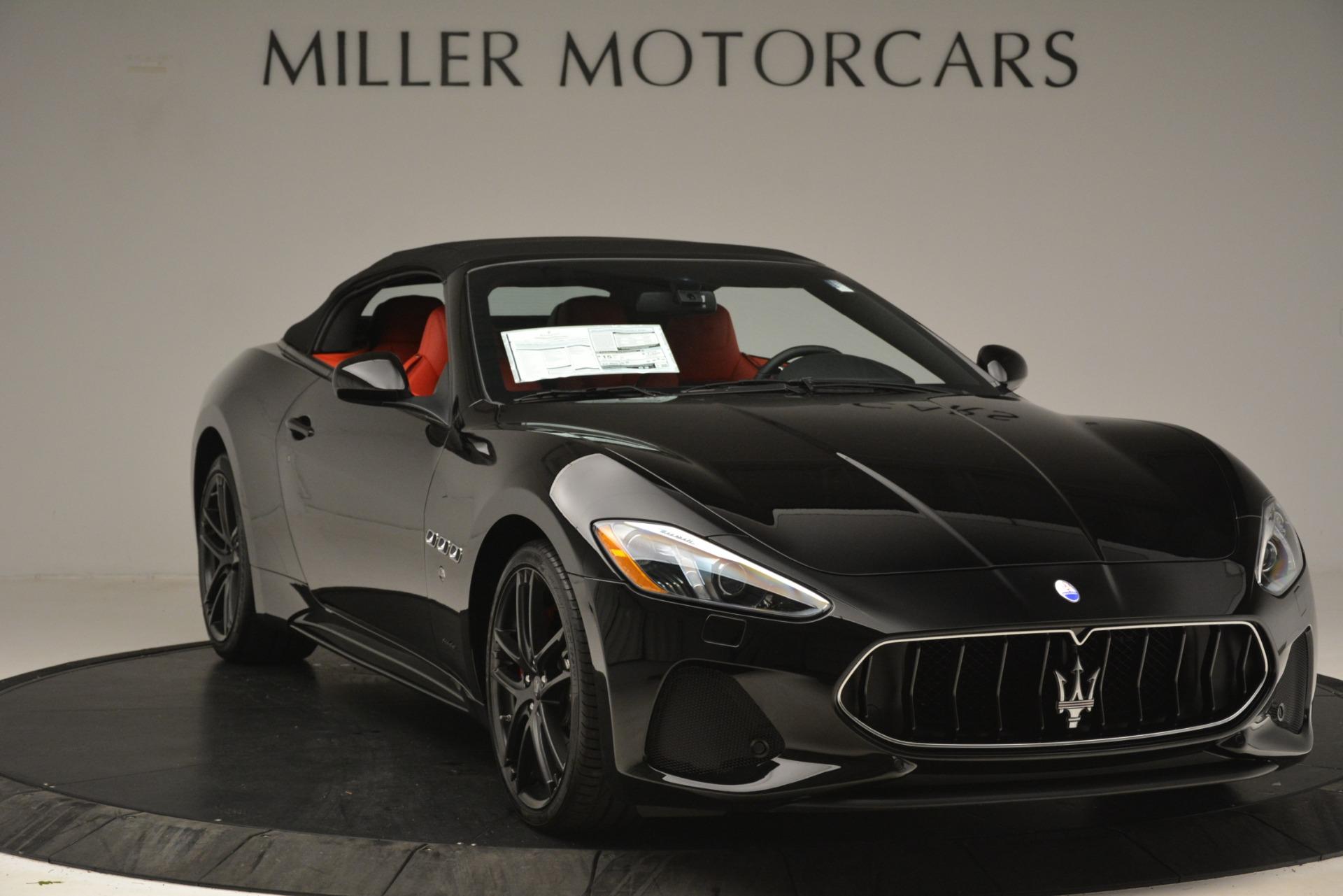 New 2018 Maserati GranTurismo Sport Convertible For Sale In Greenwich, CT 3137_p22
