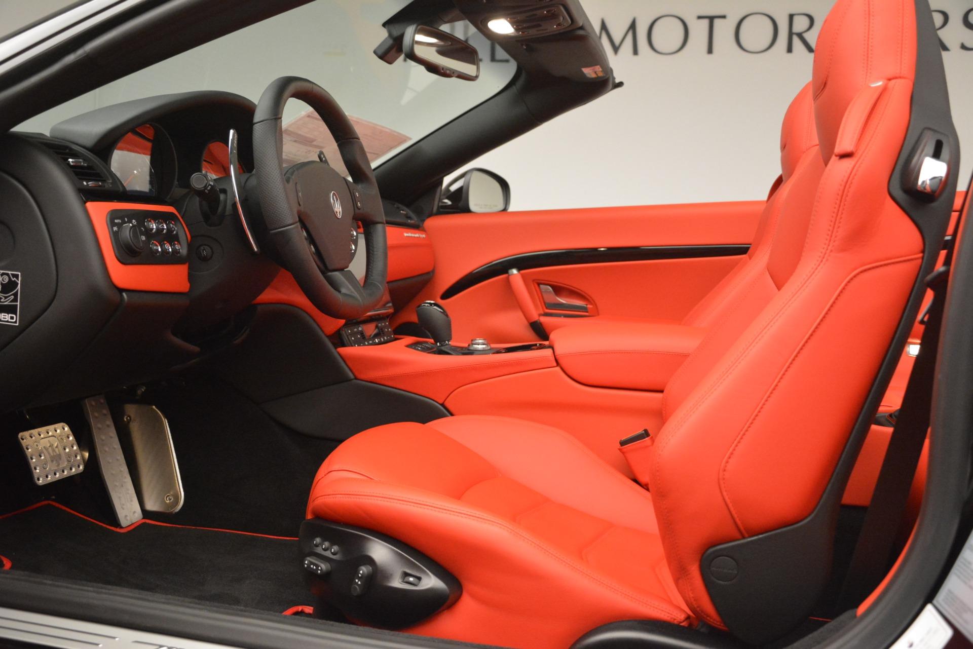 New 2018 Maserati GranTurismo Sport Convertible For Sale In Greenwich, CT 3137_p26