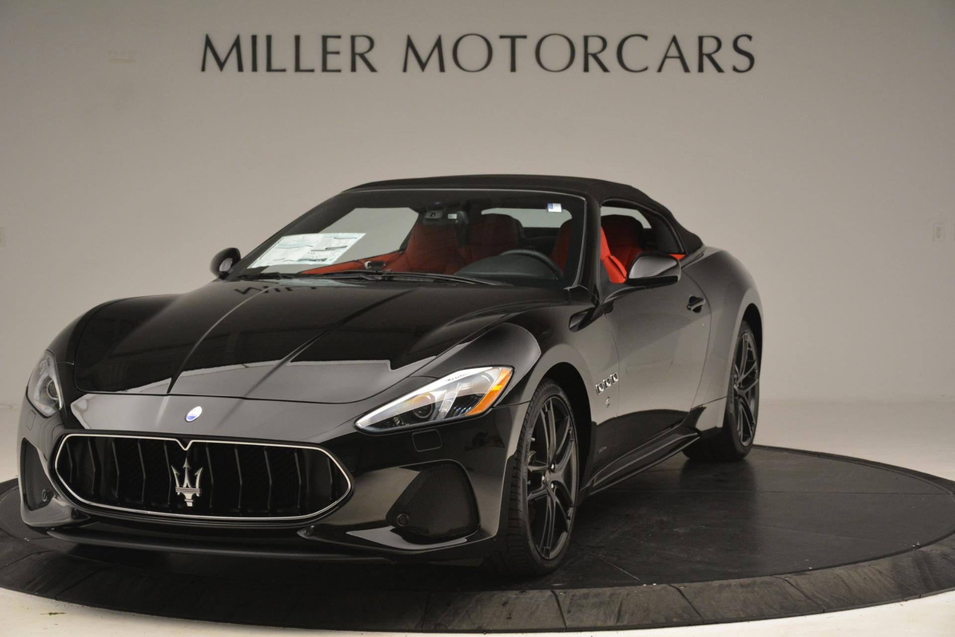 New 2018 Maserati GranTurismo Sport Convertible For Sale In Greenwich, CT 3137_p2